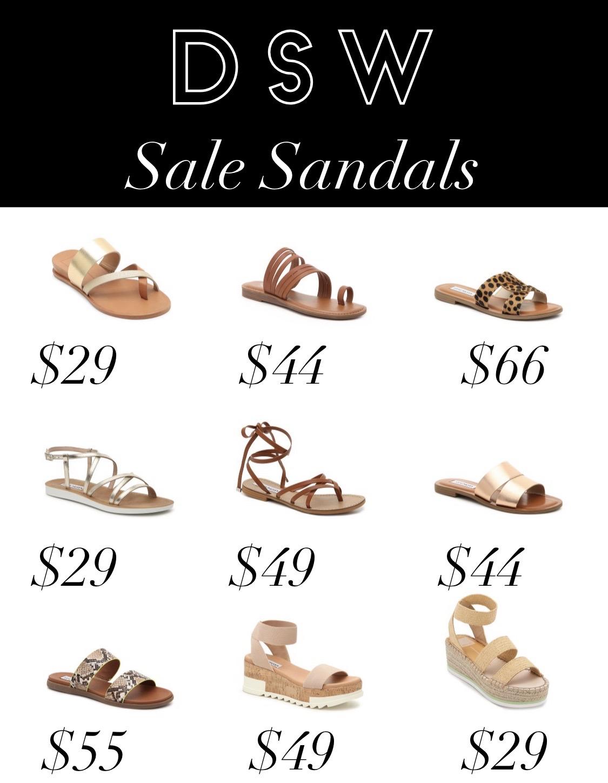 DSW Sale Sandals