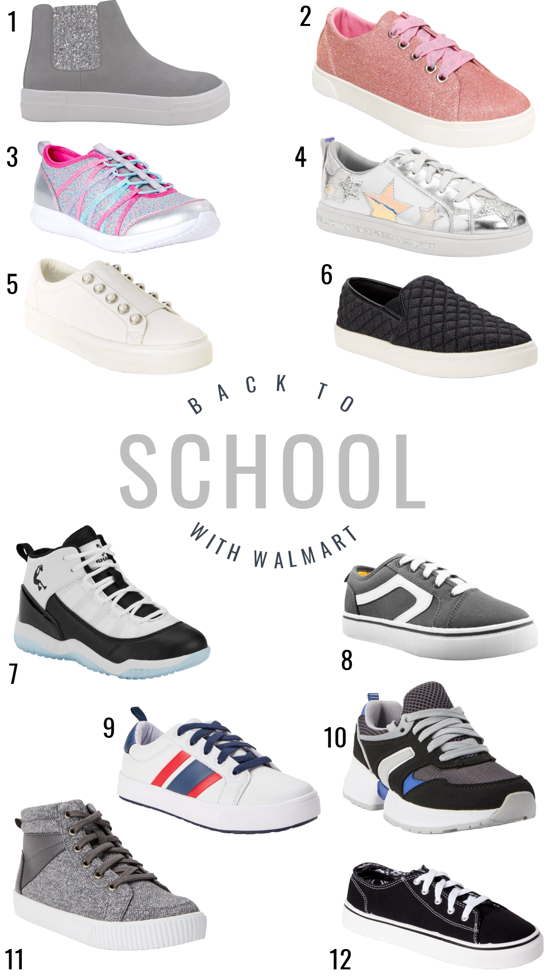 Back to School Shoes for boys & girls