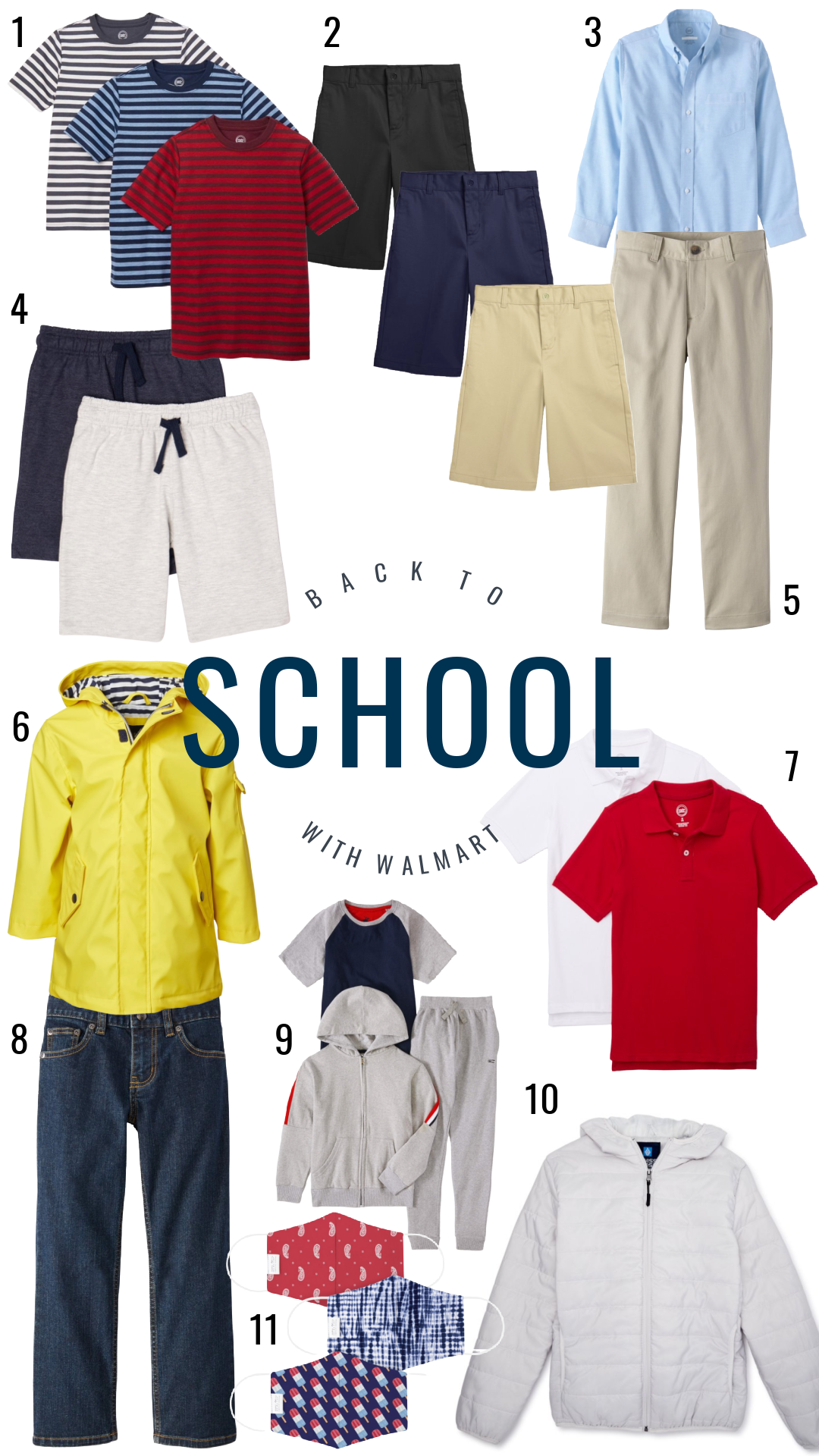 Back to School for Boys