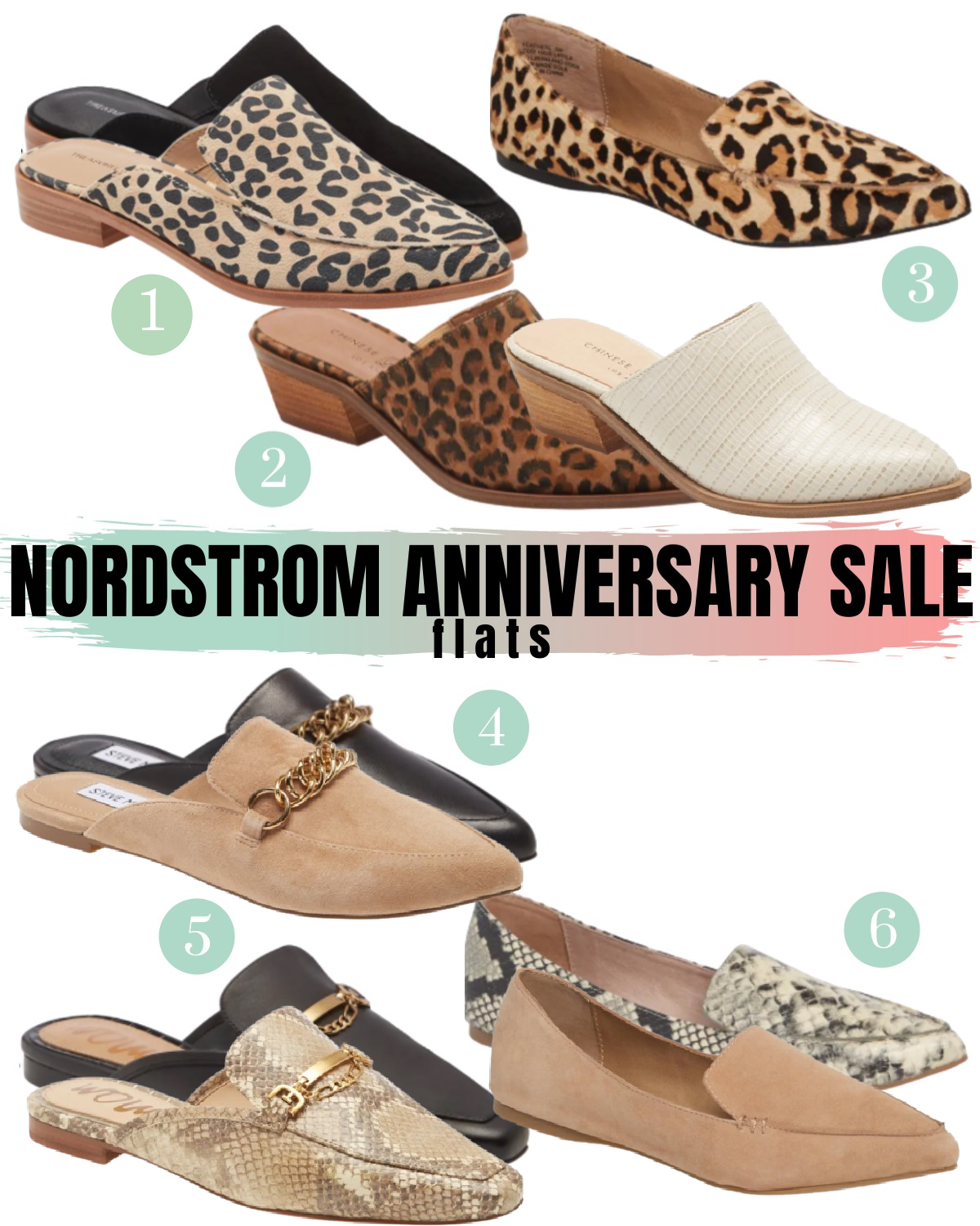 Nordstrom Anniversary Sale Flats and Mules