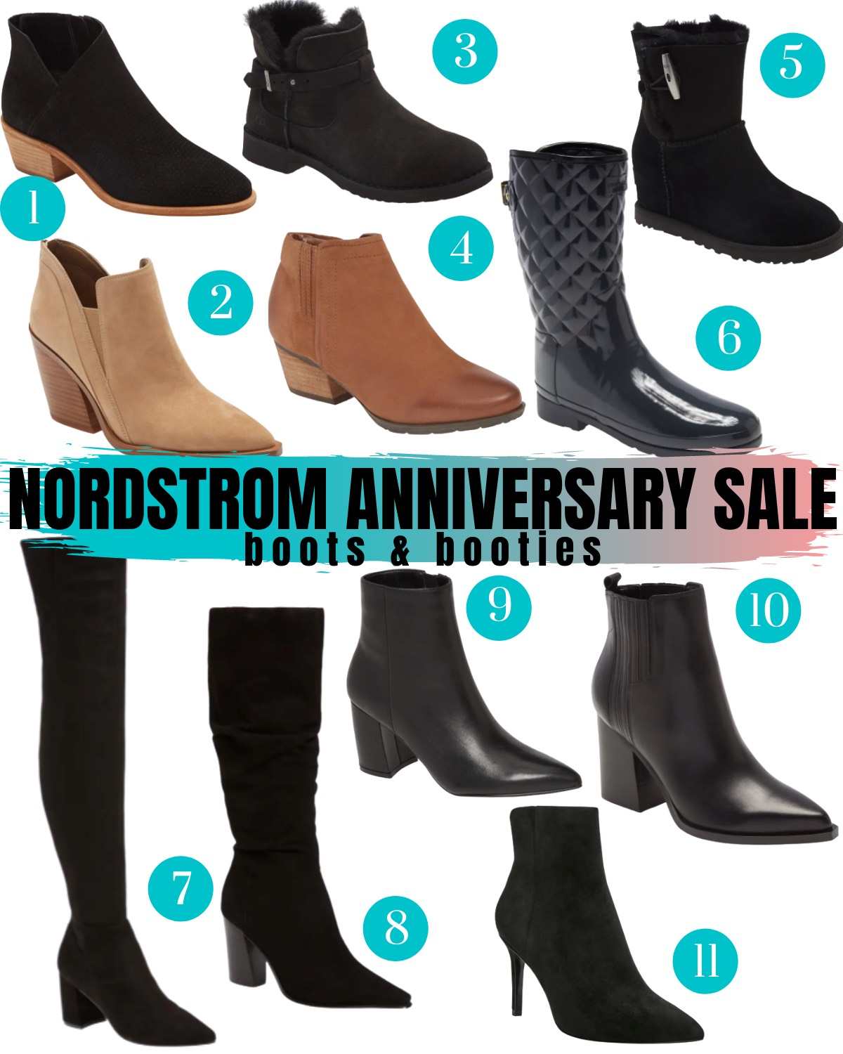 Nordstrom Anniversary Sale 2020 boots and booties