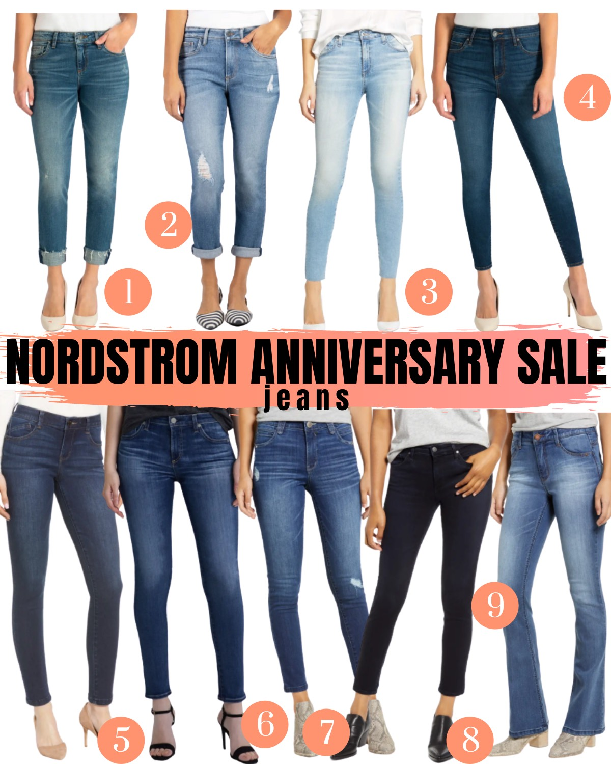 Nordstrom Anniversary Sale 2020 jeans