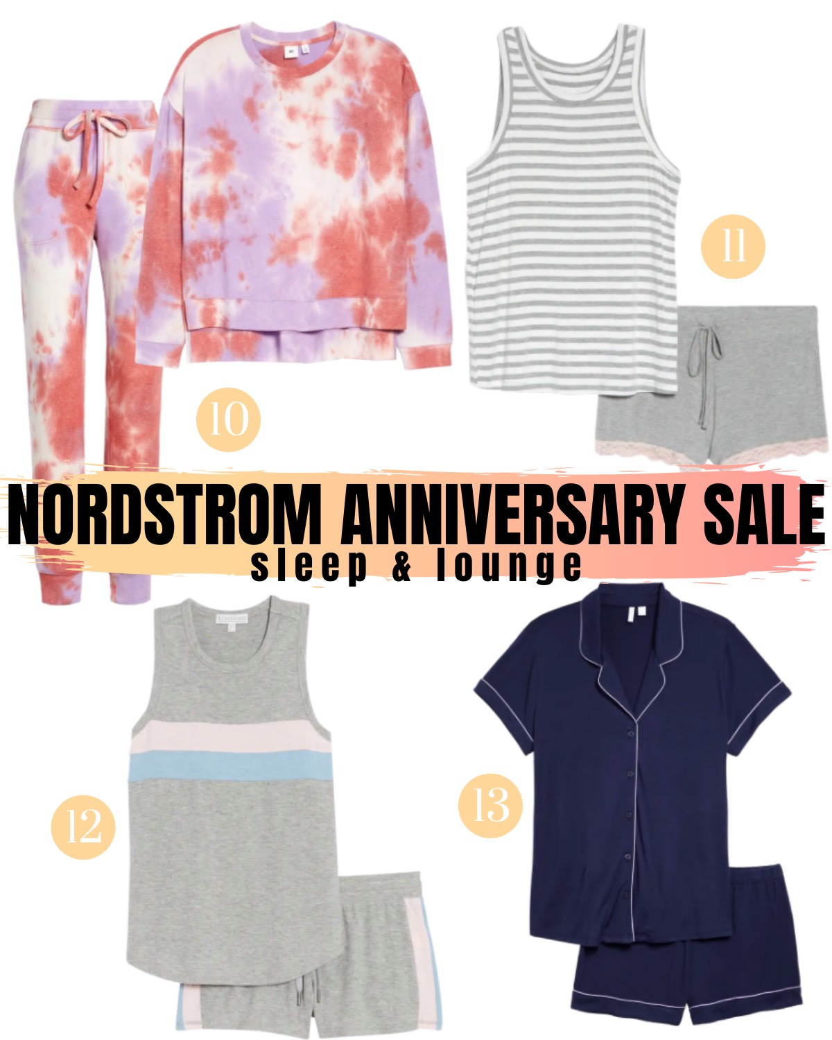 Nordstrom Anniversary Sale 2020 sleep and lounge