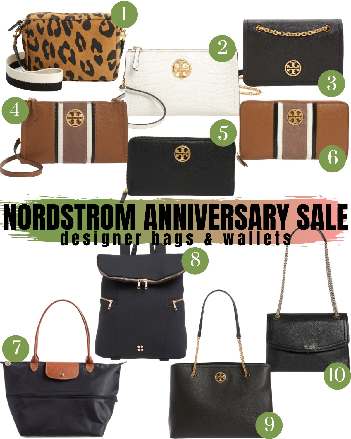 Nordstrom Anniversary Sale 2020 Bags and Wallets