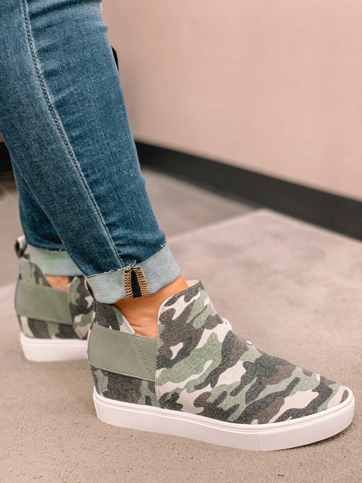 Nordstrom Anniversary Sale 2020 jeans camo booties