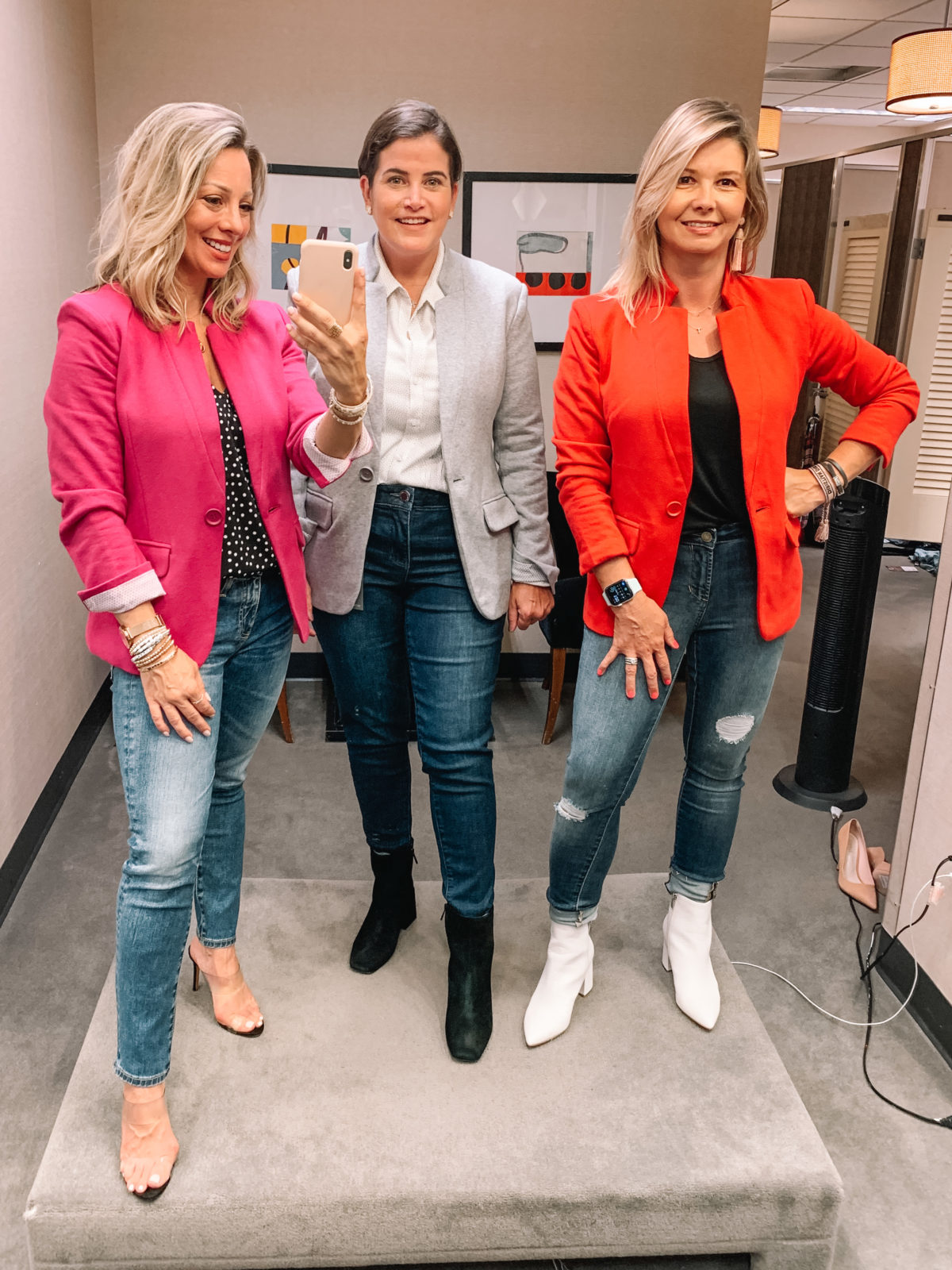 Nordstrom Anniversary Sale 2020 jeans booties heels blazer blouse