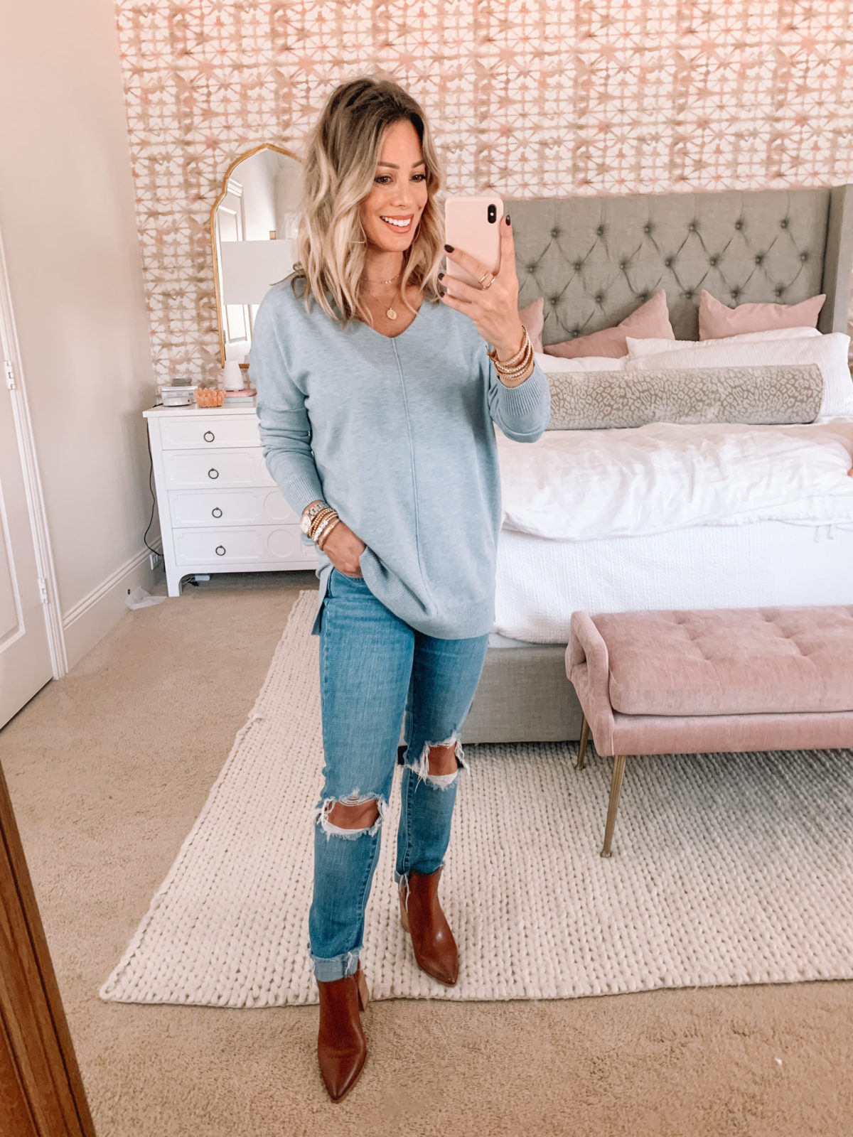 Amazon Fashion Faves, Sweater, Booties, Jeans