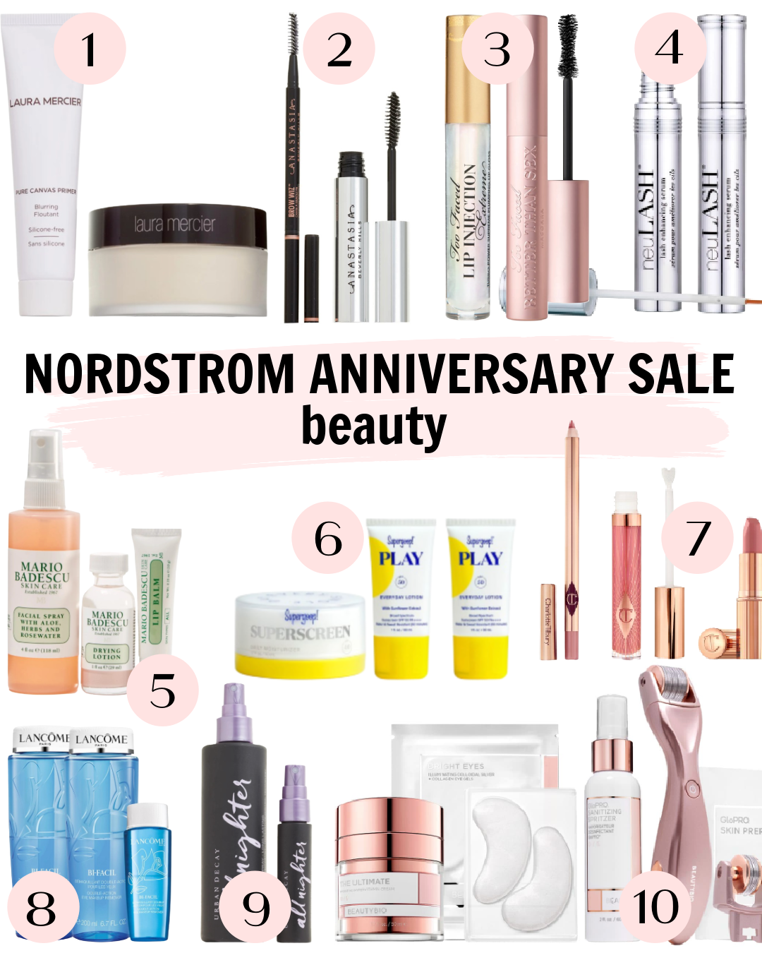 Nordstrom Anniversary Sale 2020 Beauty