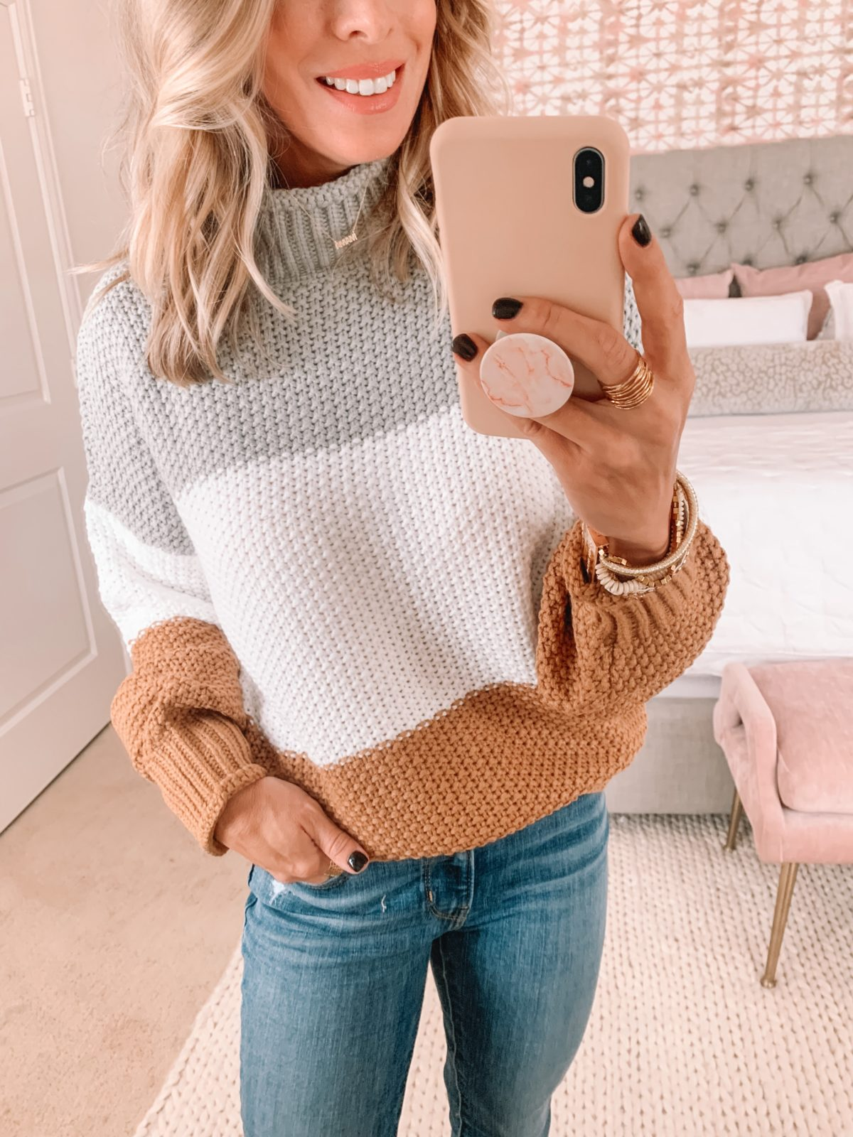 Amazon Fashion Faves, Colorblock Sweater