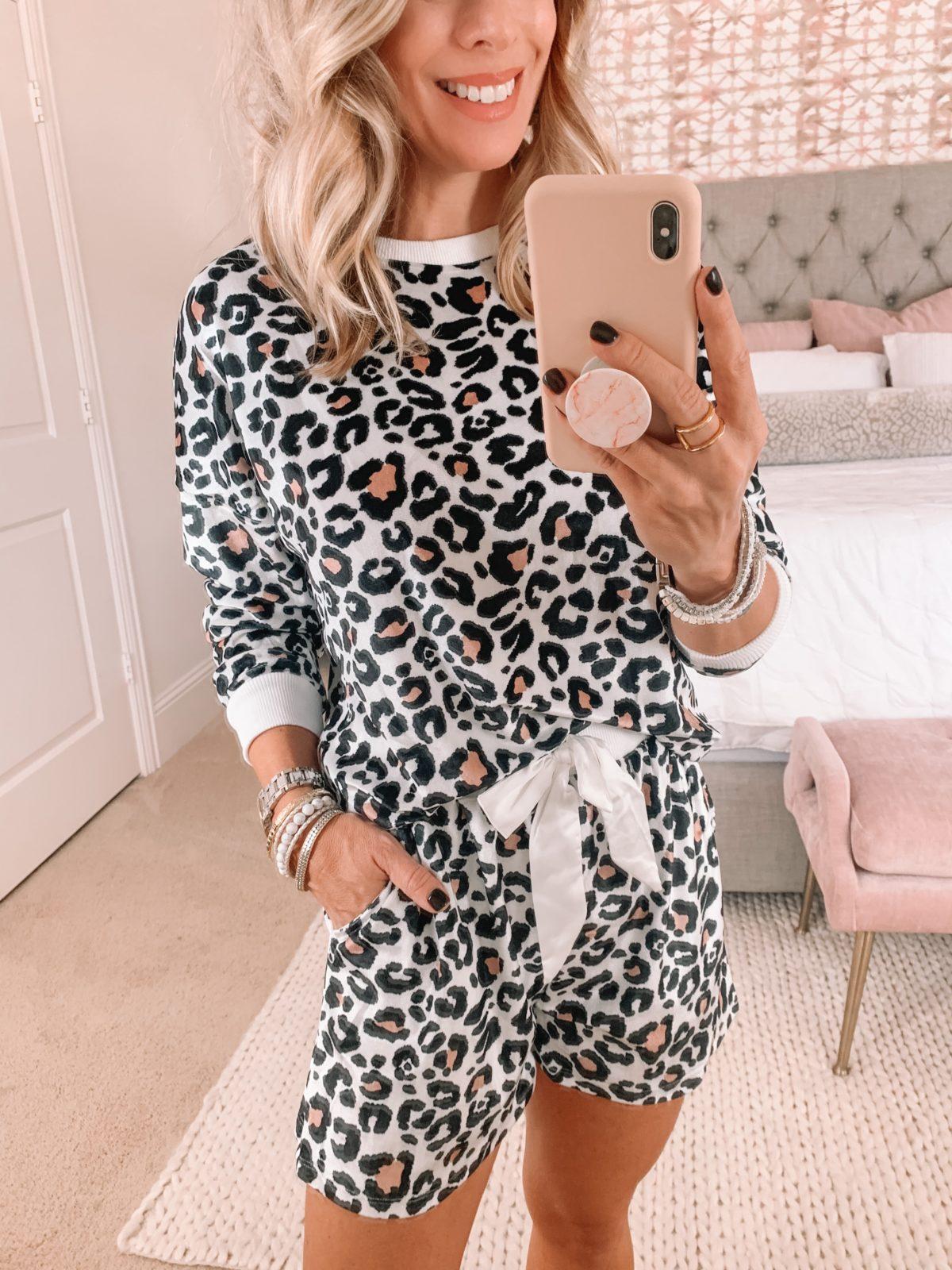 Amazon Fashion Faves, Leopard Pajamas
