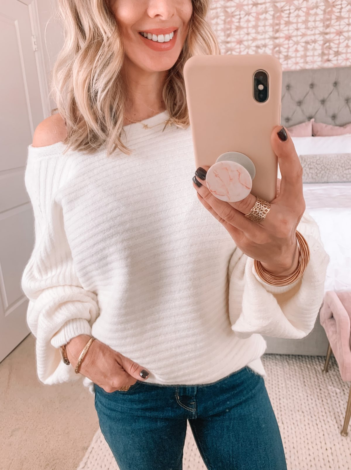 Amazon Fashion Faves, sweater, jeans