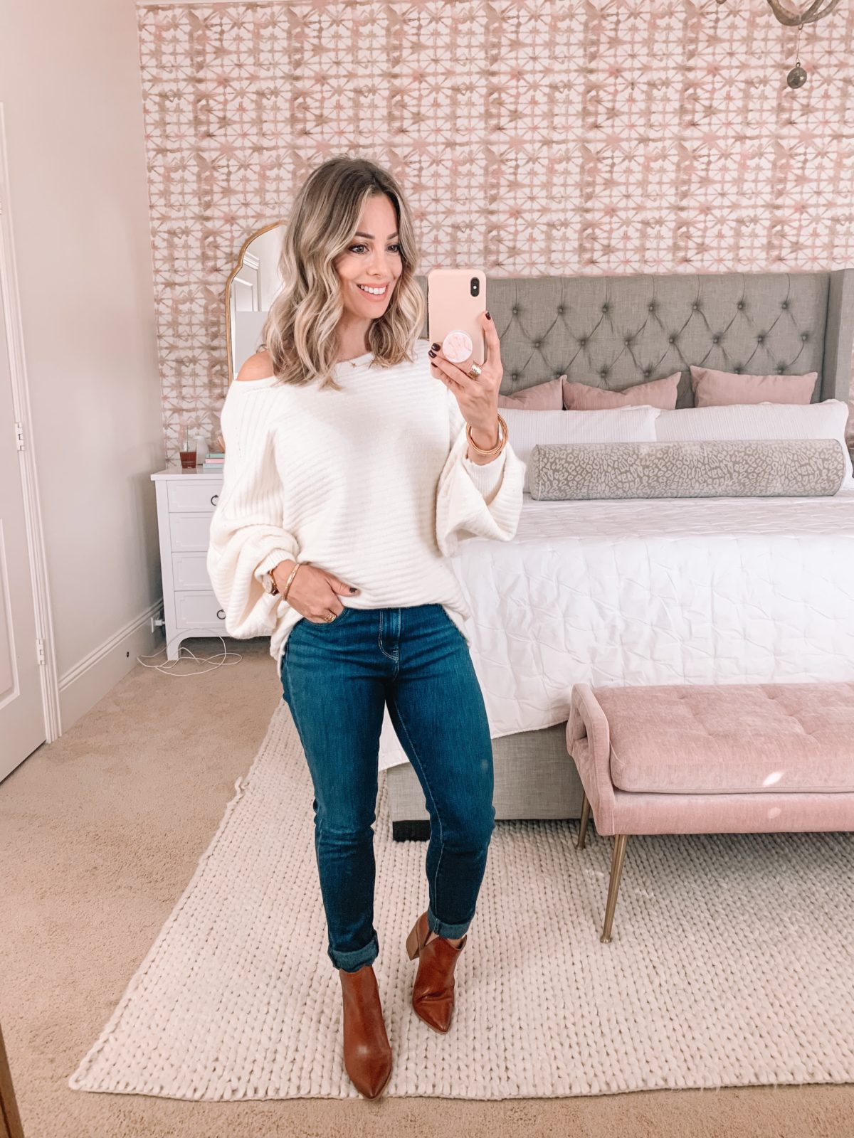 Amazon Fashion Faves, Sweater, Jeans, Booties