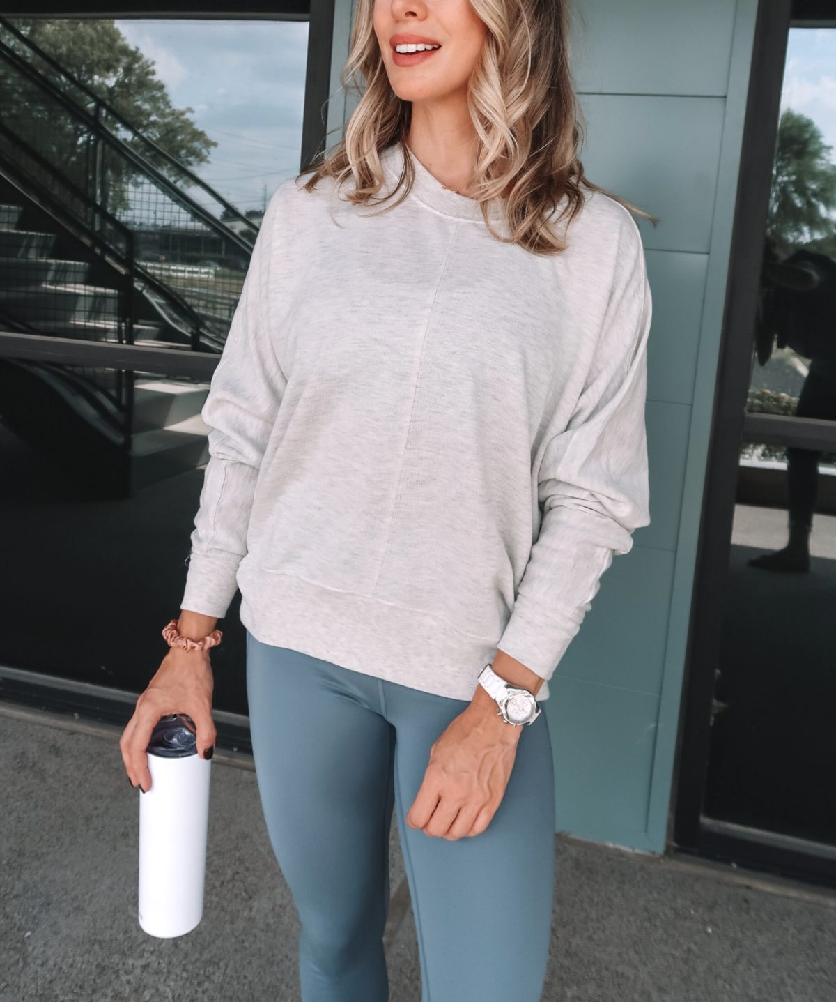 Fitness, Leggings, Sweatshirt, Shoes