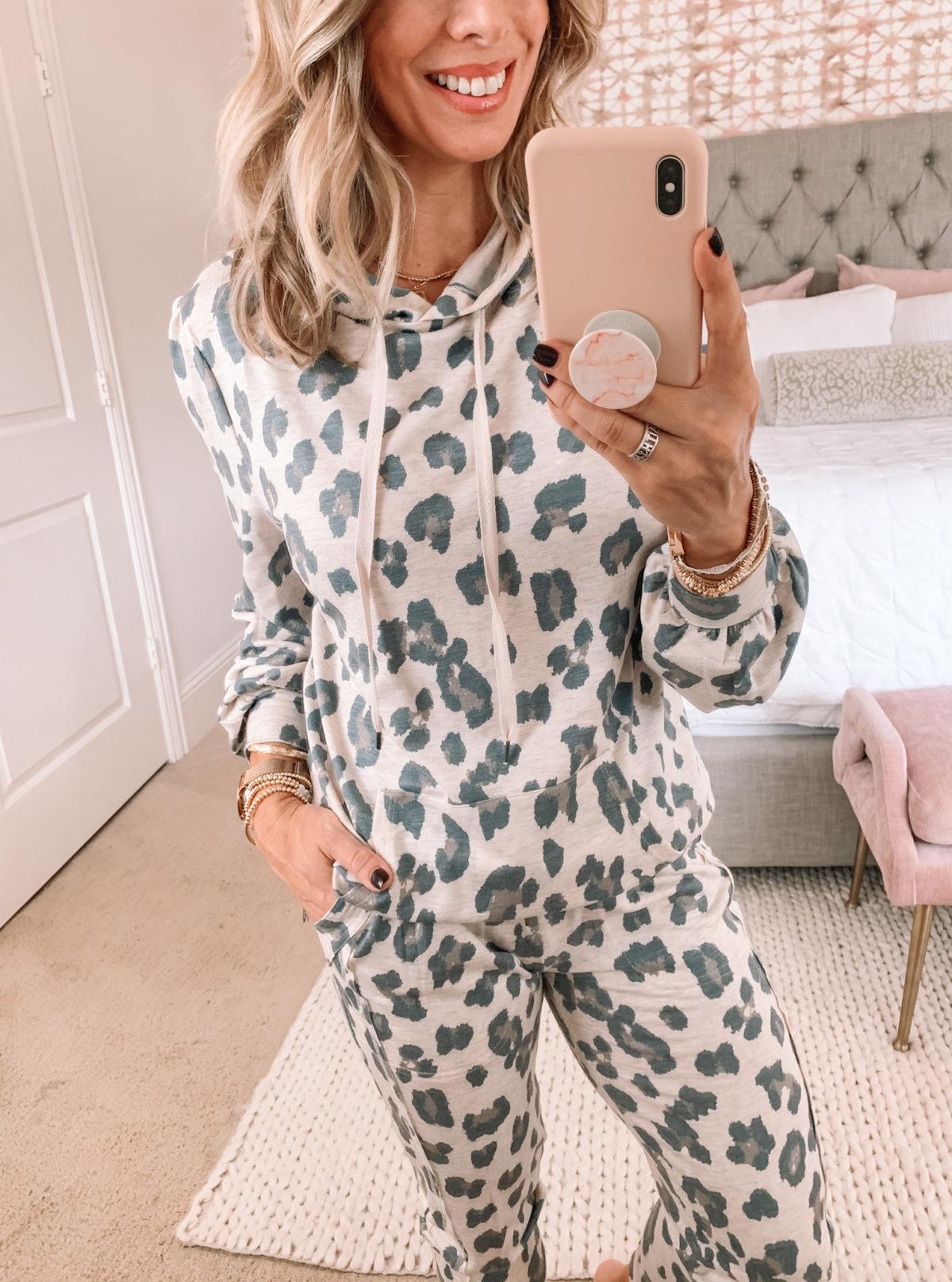Walmart Fashion, Leopard Loungewear Set
