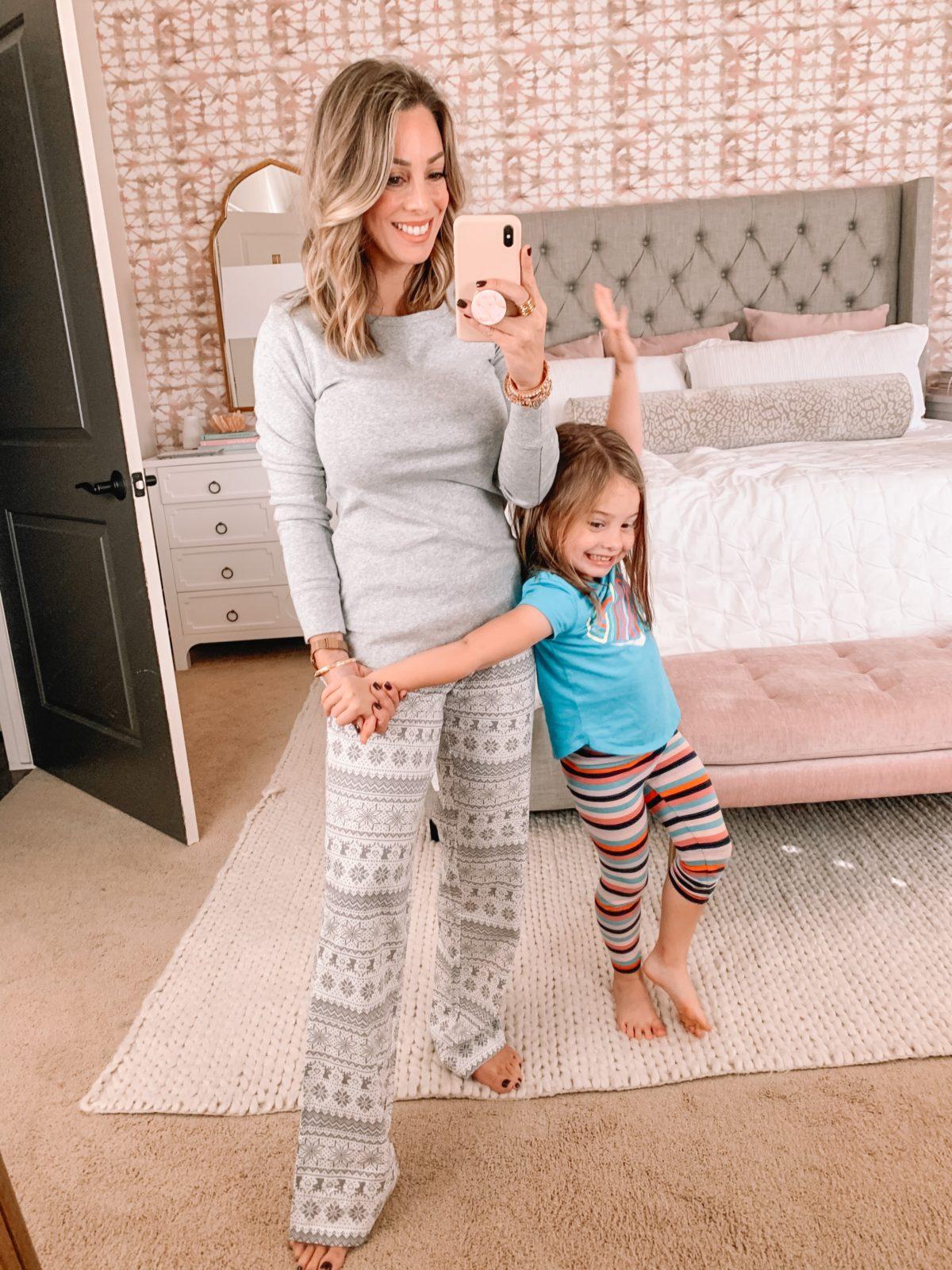 Amazon Fashion Faves, Snowflake Pajamas