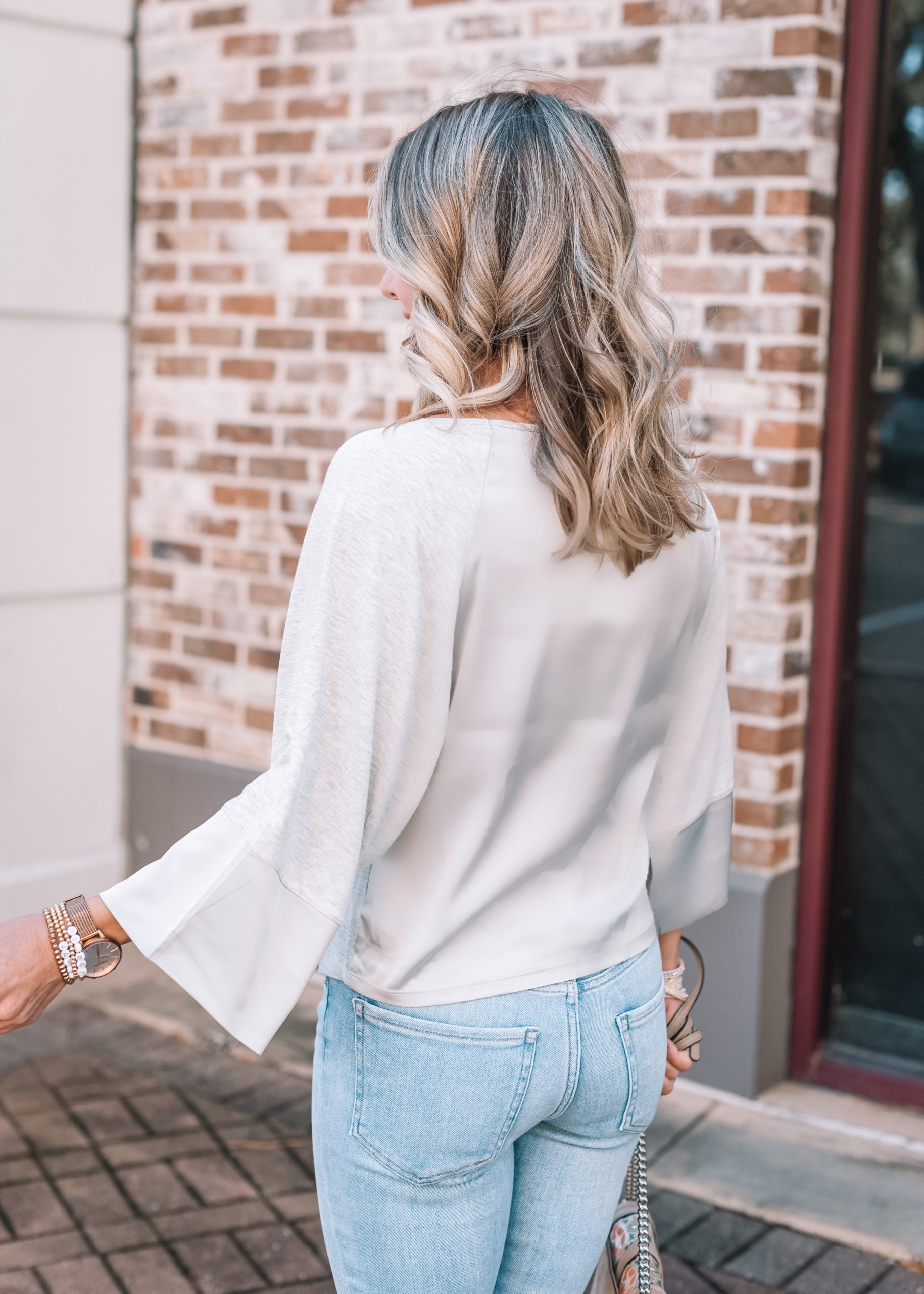 Express Fashion, Grey Tee, Skinny Jeans
