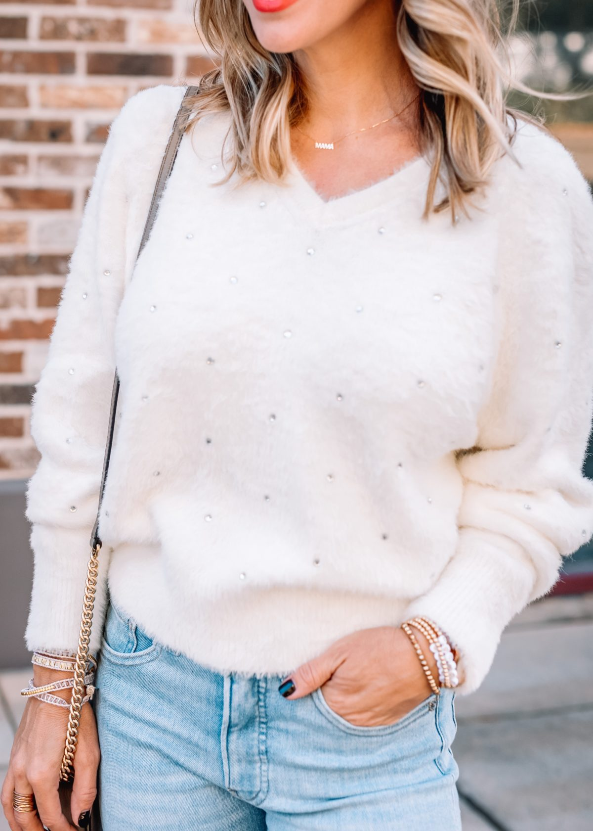 Express Sweater, Skinny Jeans