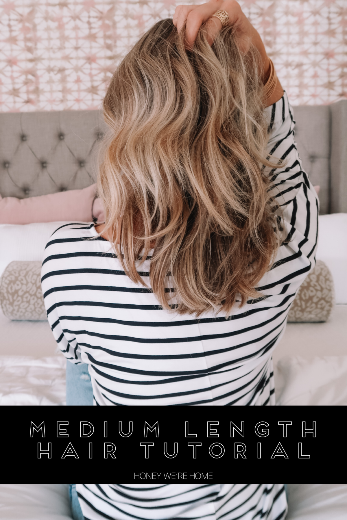 Medium Length Hair tutorial