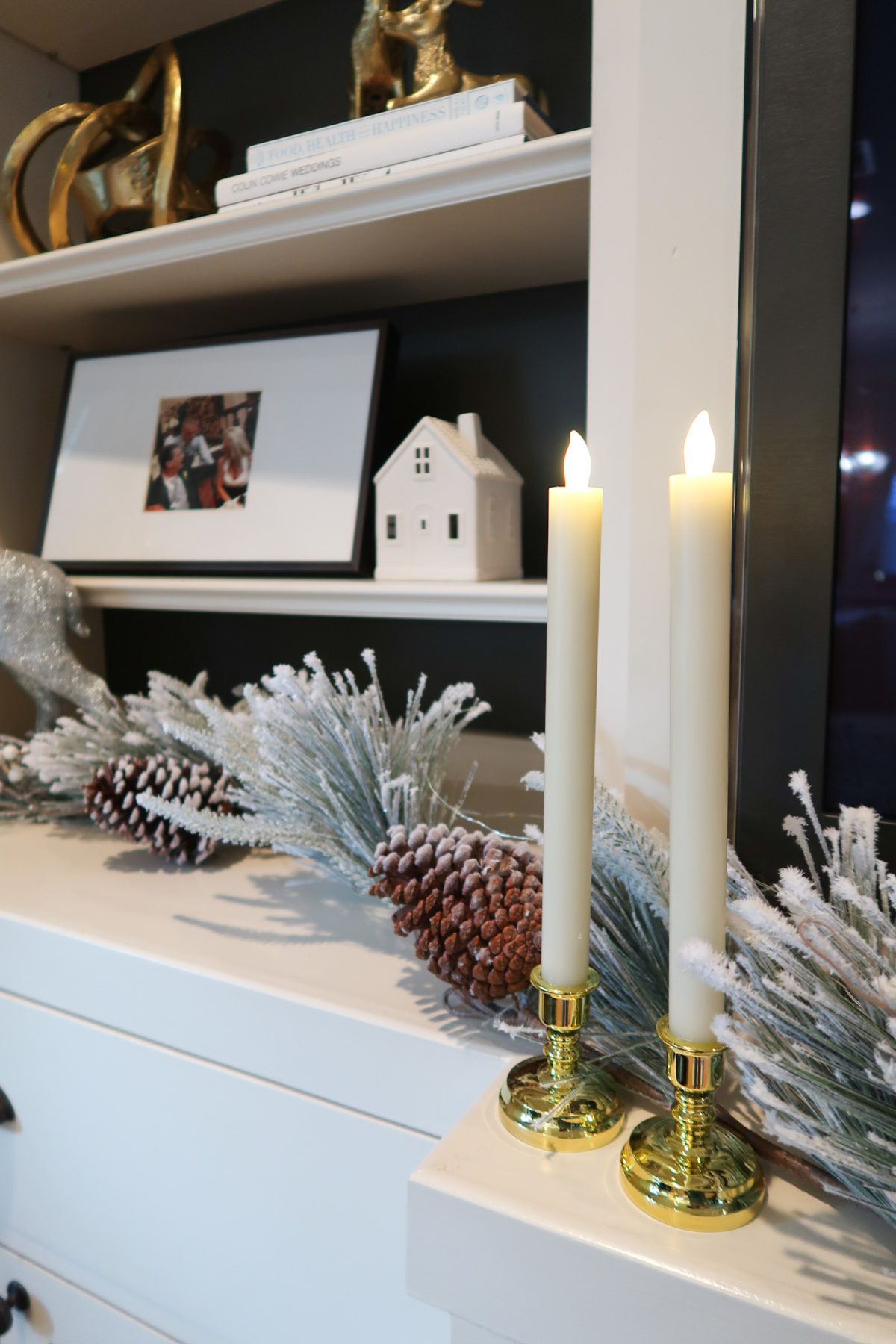 Christmas Home Tour, Candlesticks