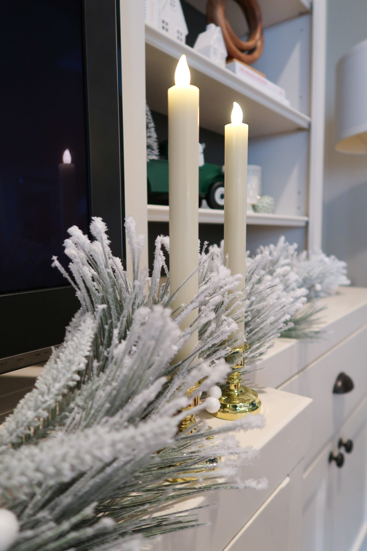 Christmas Home Tour, Candelsticks