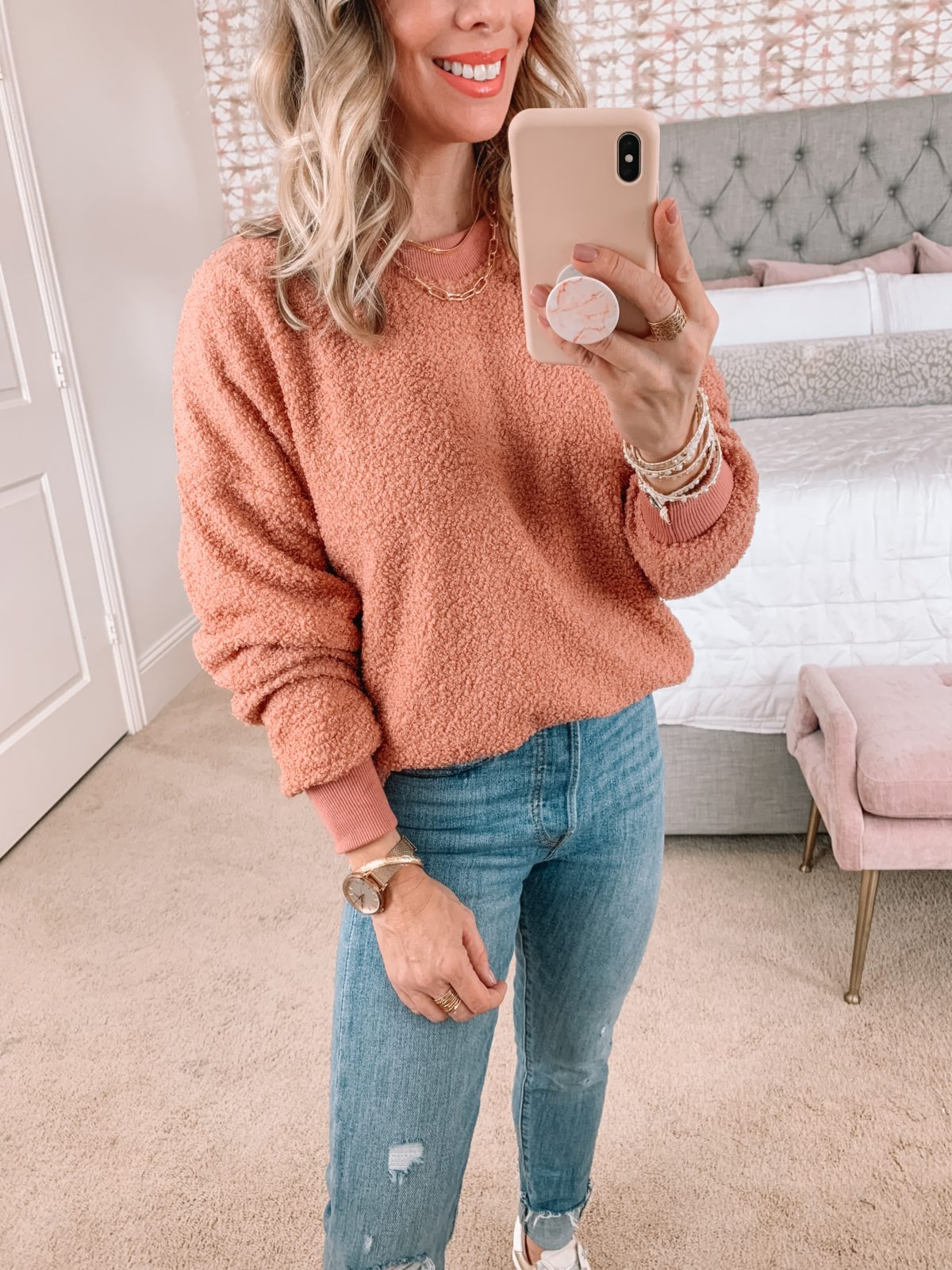 Amazon Fashion Faves, Sweater, Jeans, Sneakers
