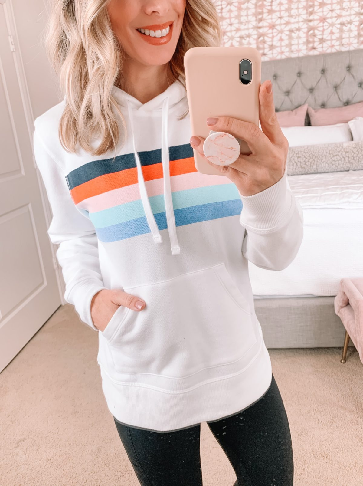 Amazon Fashion Faves, Pullover, Leggings, Wedge Sneakers
