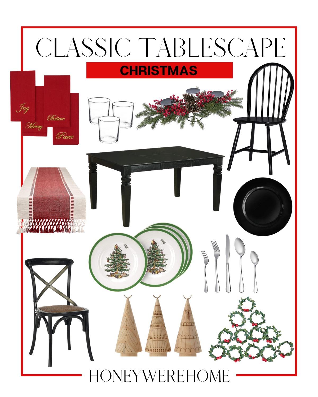 Amazon Christmas Tablescape