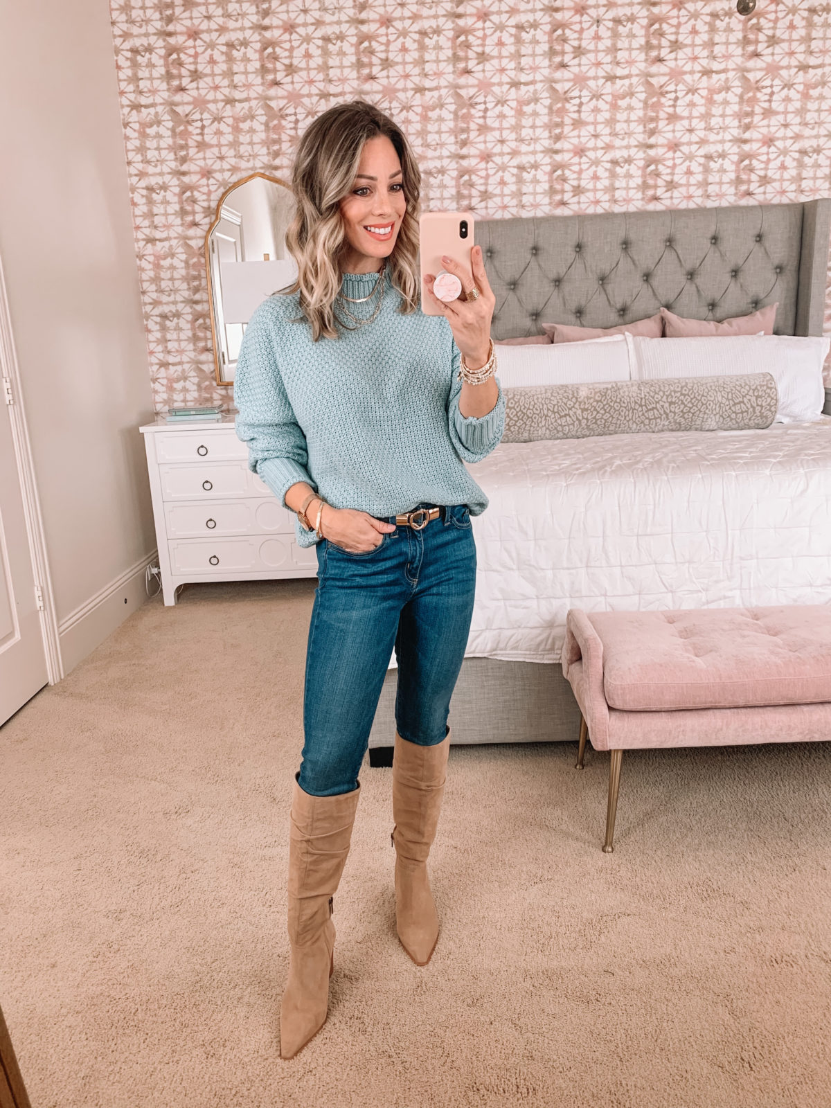 Amazon Fashion Faves, Sweater, Jeans, Boots
