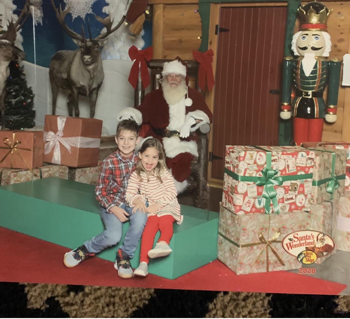 2020 pic with Santa
