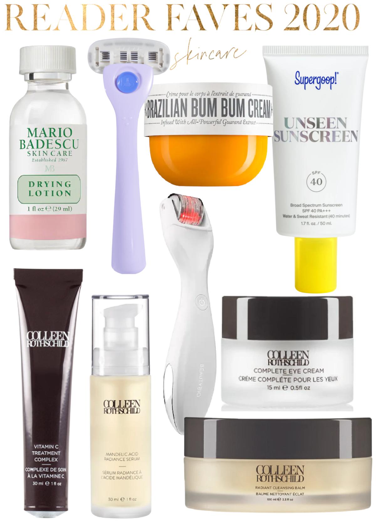 Reader Faves 2020 | Skincare