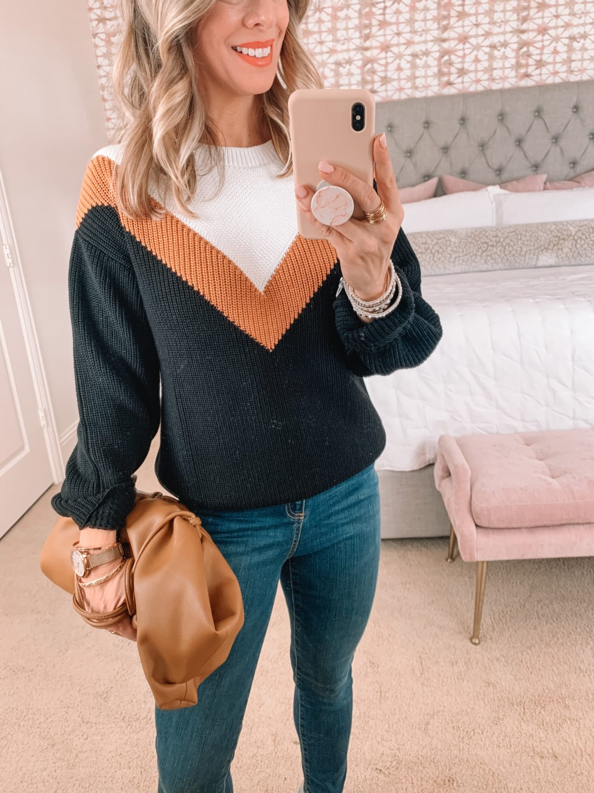 Amazon Fashion Faves, Sweater, Jeans, Crossbody, Booties