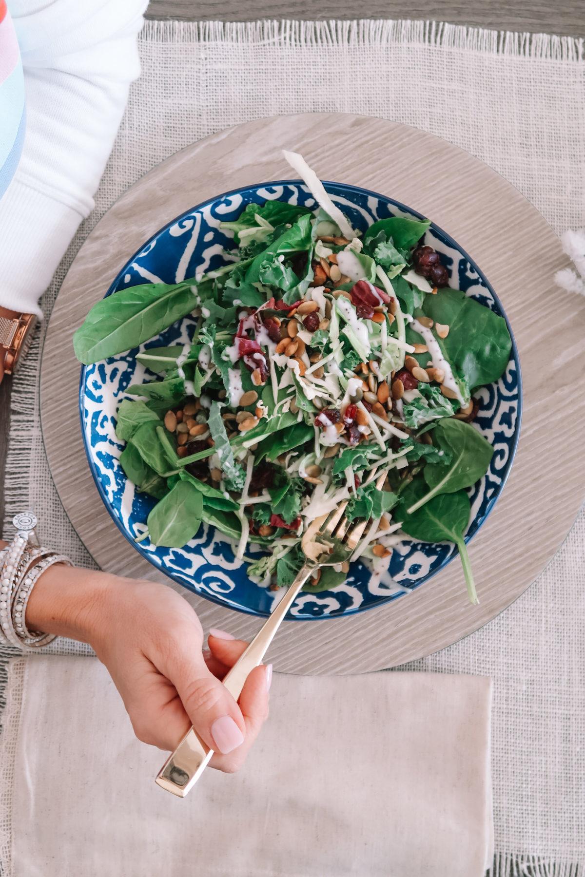 What I'm eating, Salad