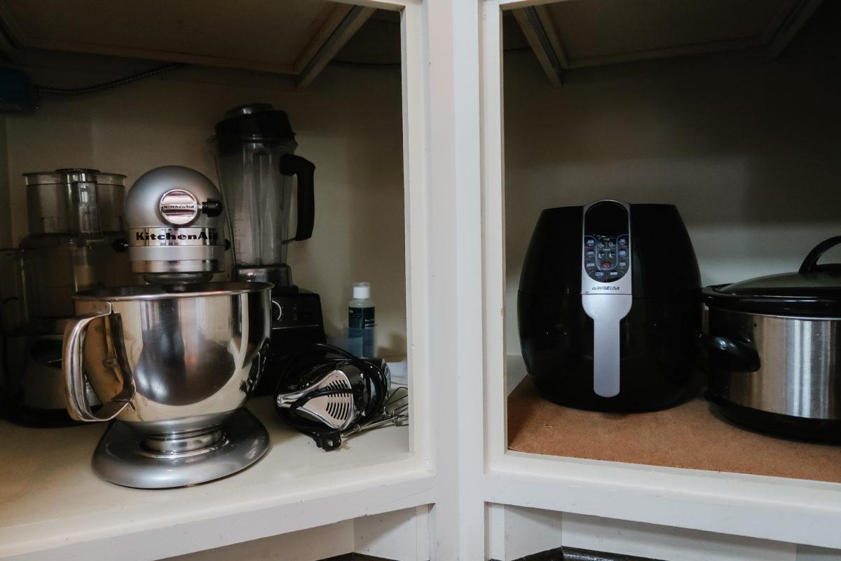 small appliance storage