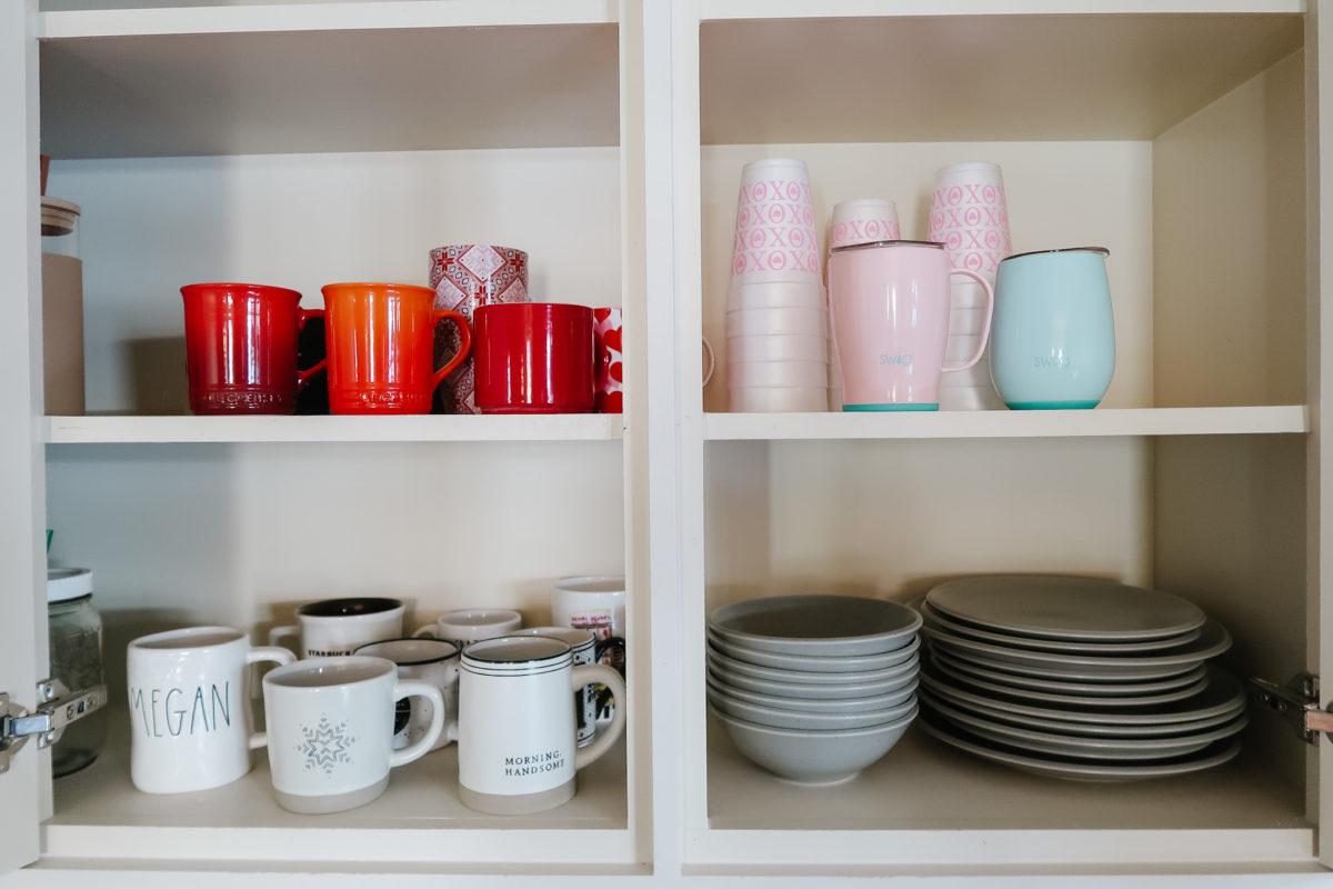 coffee mug storage