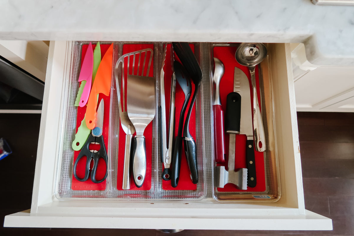 kitchen tools drawer