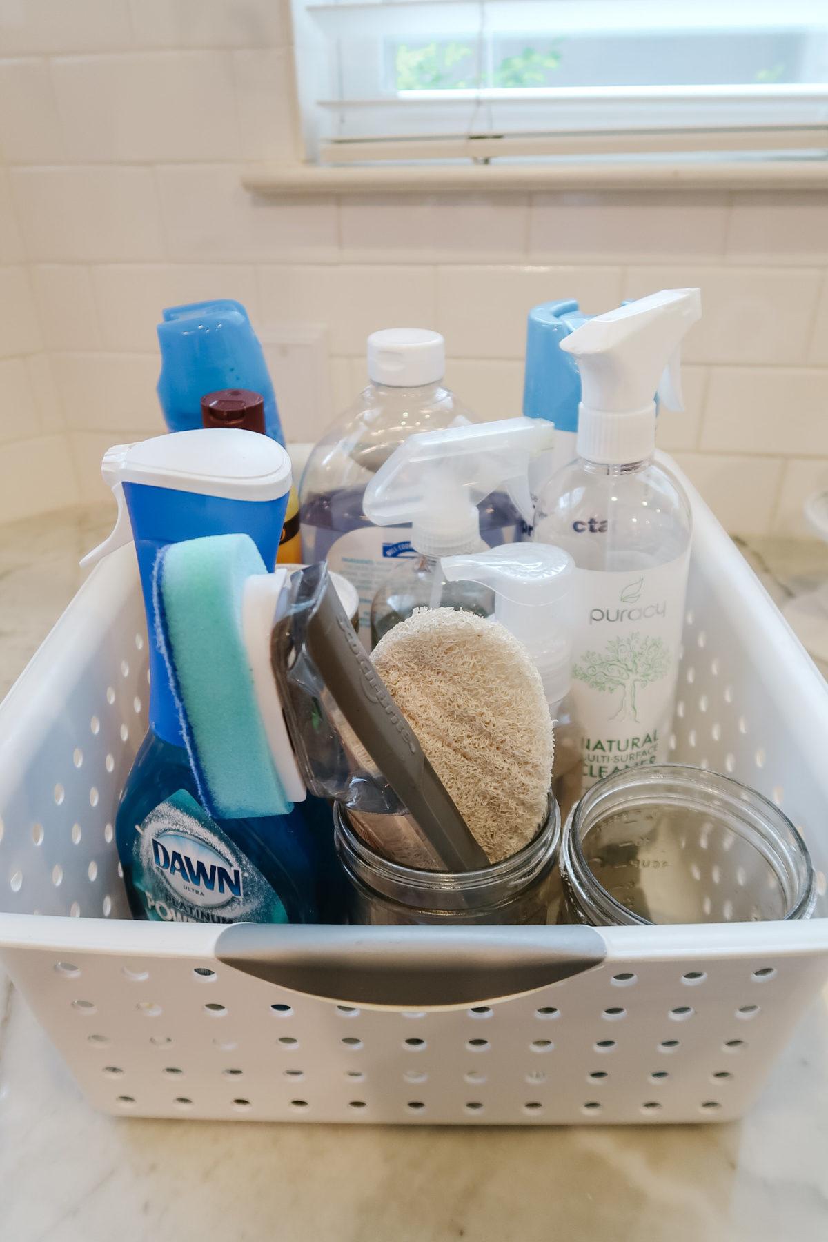 under kitchen sink organization