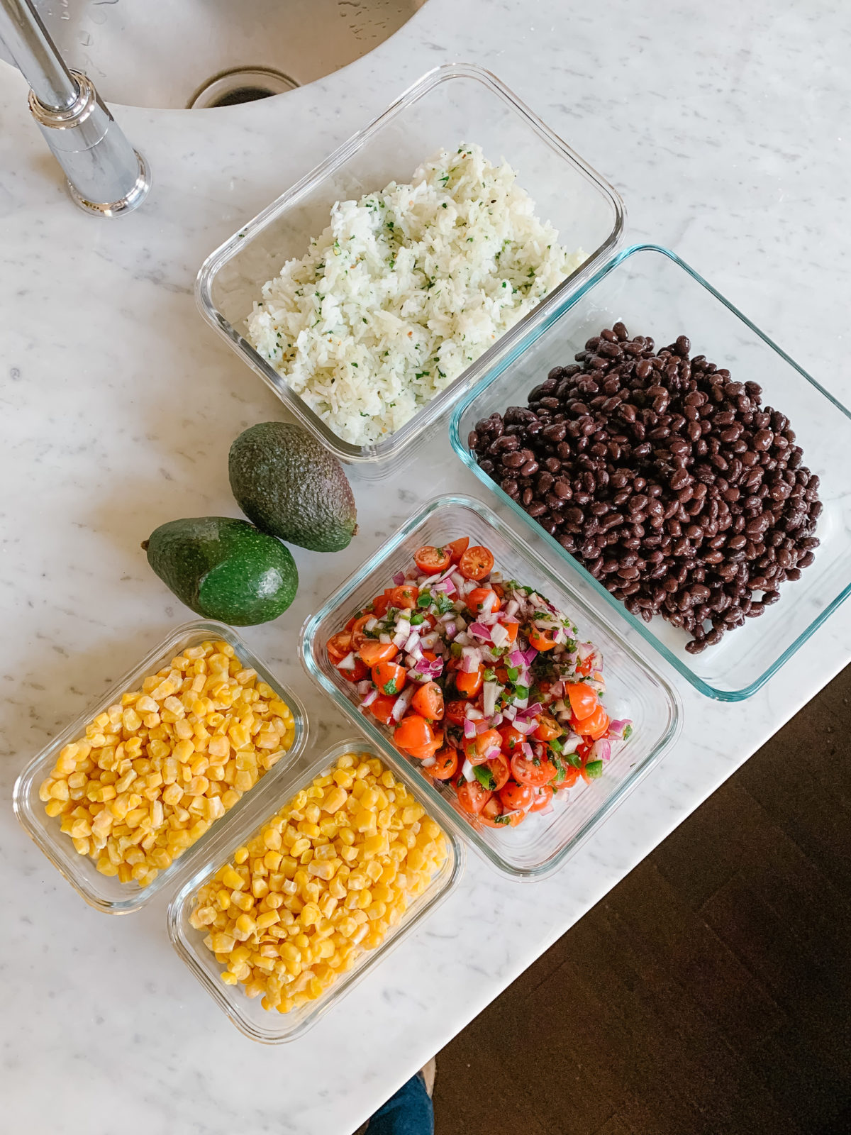 Healthy Savory Breakfast & Tex Mex Burrito Bowl