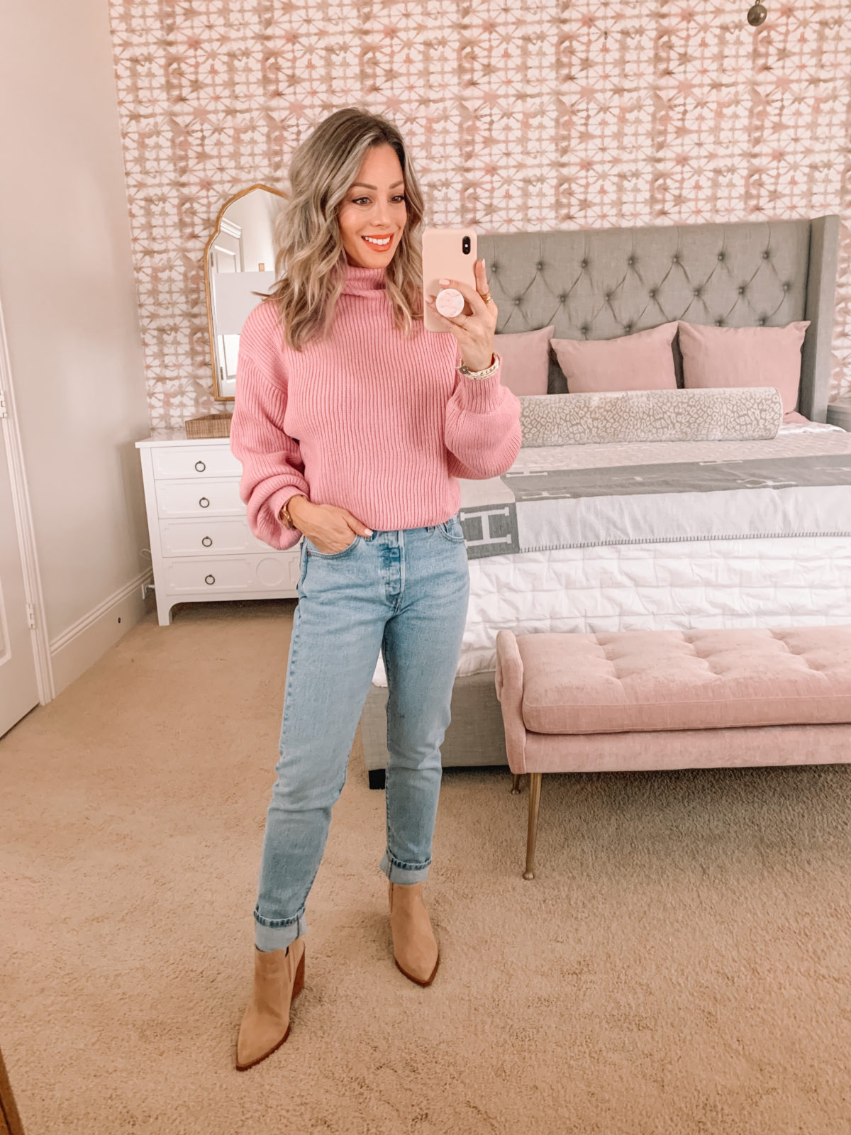 Dressing Room Finds Nordstrom, LOFT, Revolve, Sweater, Jeans, Booties