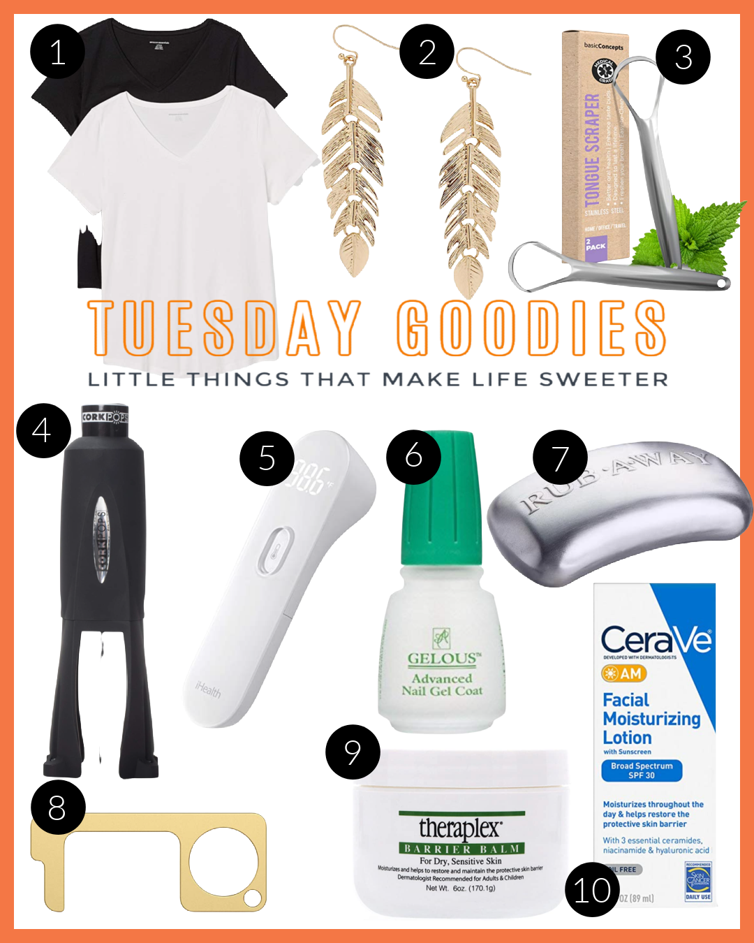 Top 10 Tuesday Goodies