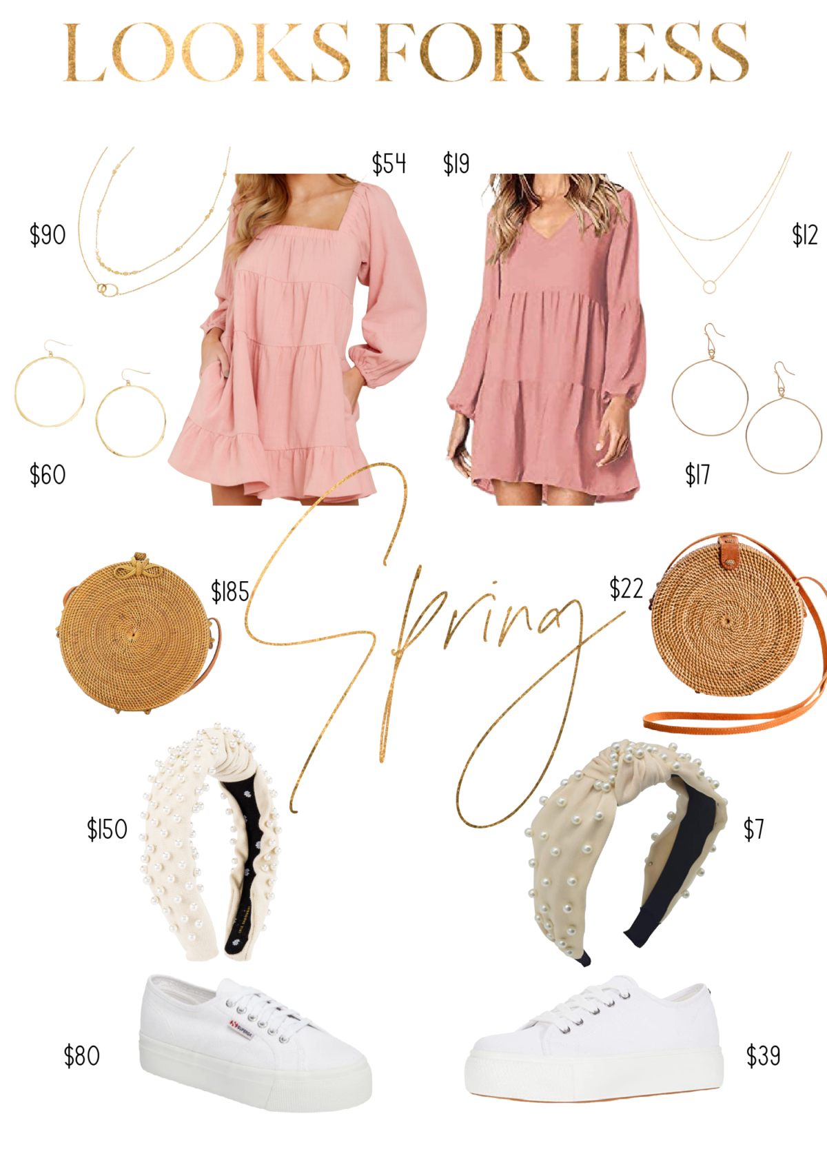 Looks for Less Spring