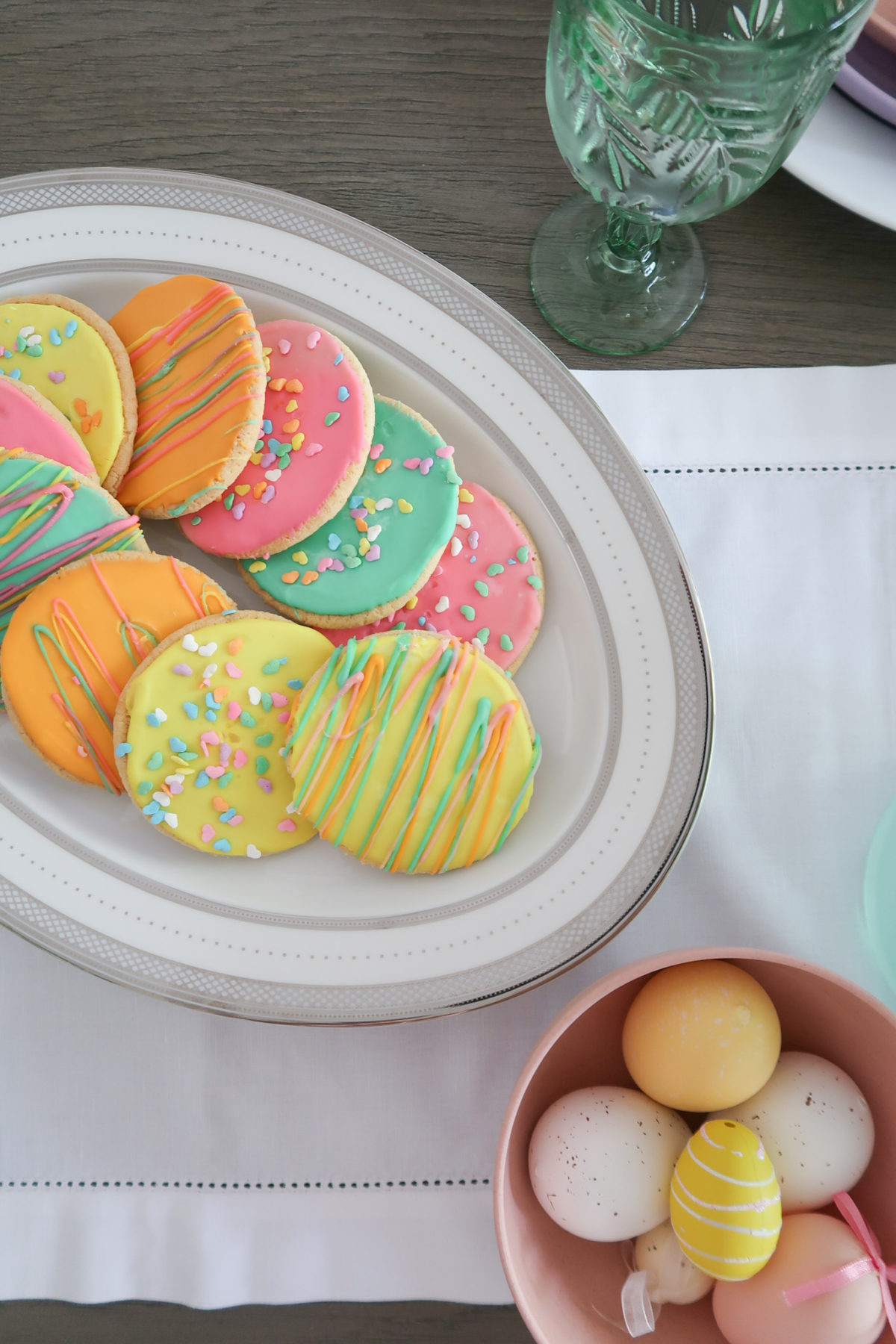 Spring Decor, Easter Cookies