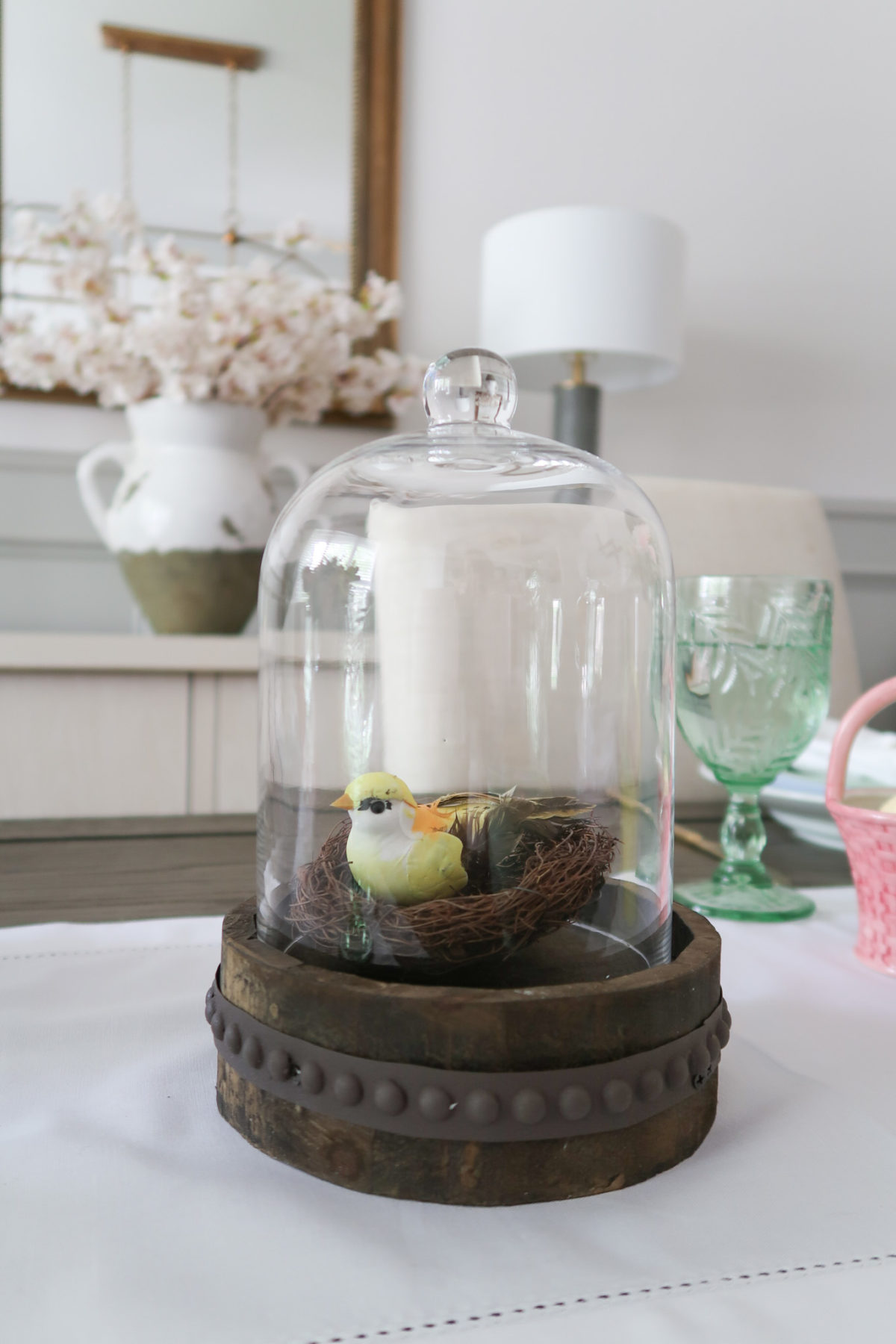 Spring Decor, Cloche
