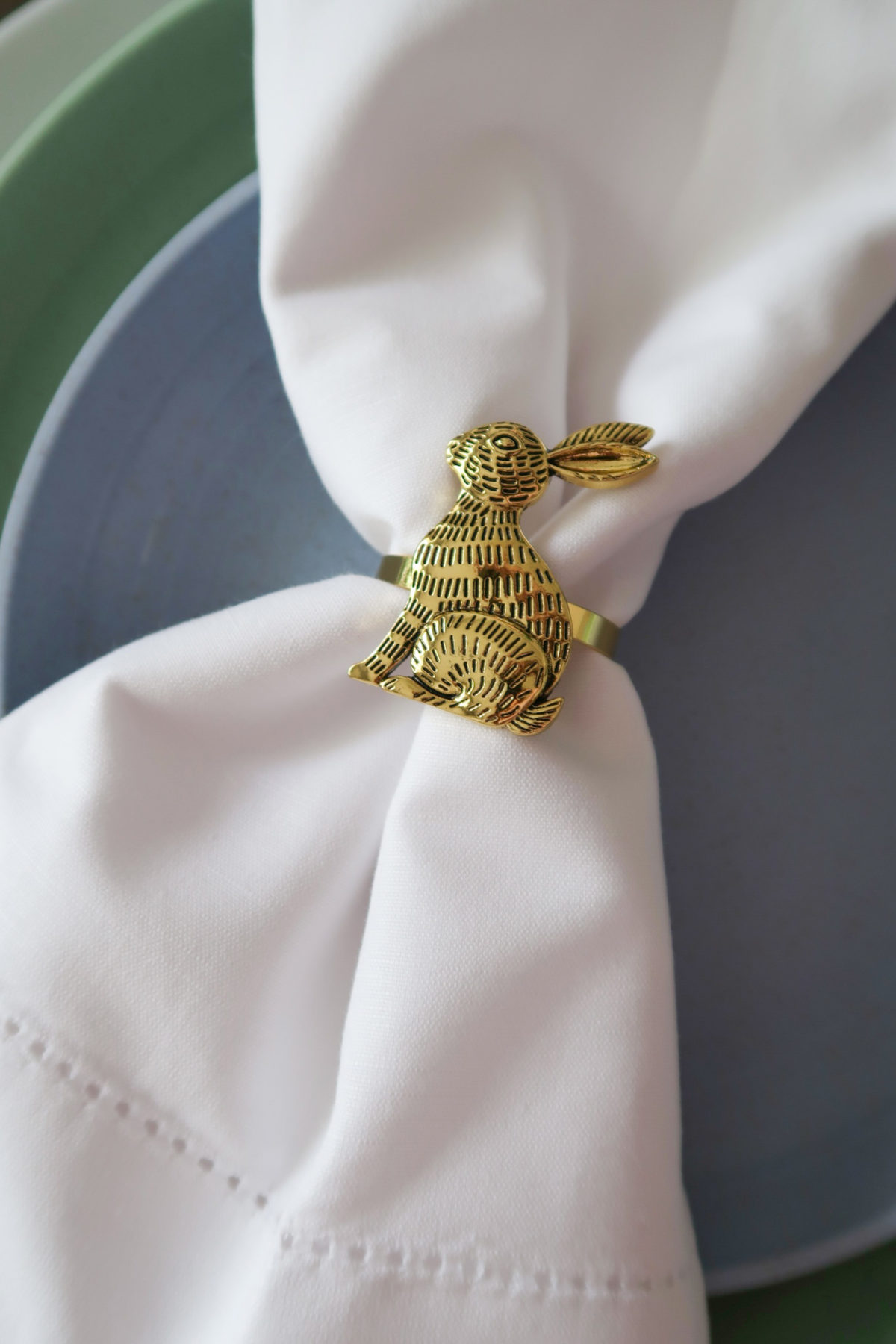 Spring Decor, Bunny Napkin Ring