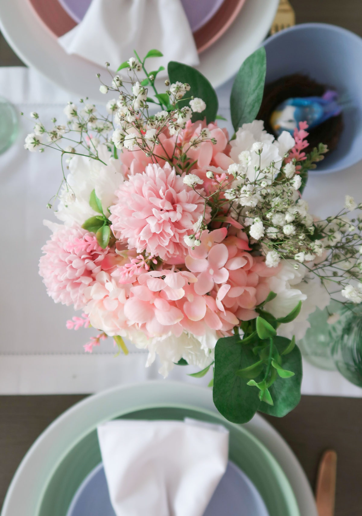Spring Decor, Faux Flowers