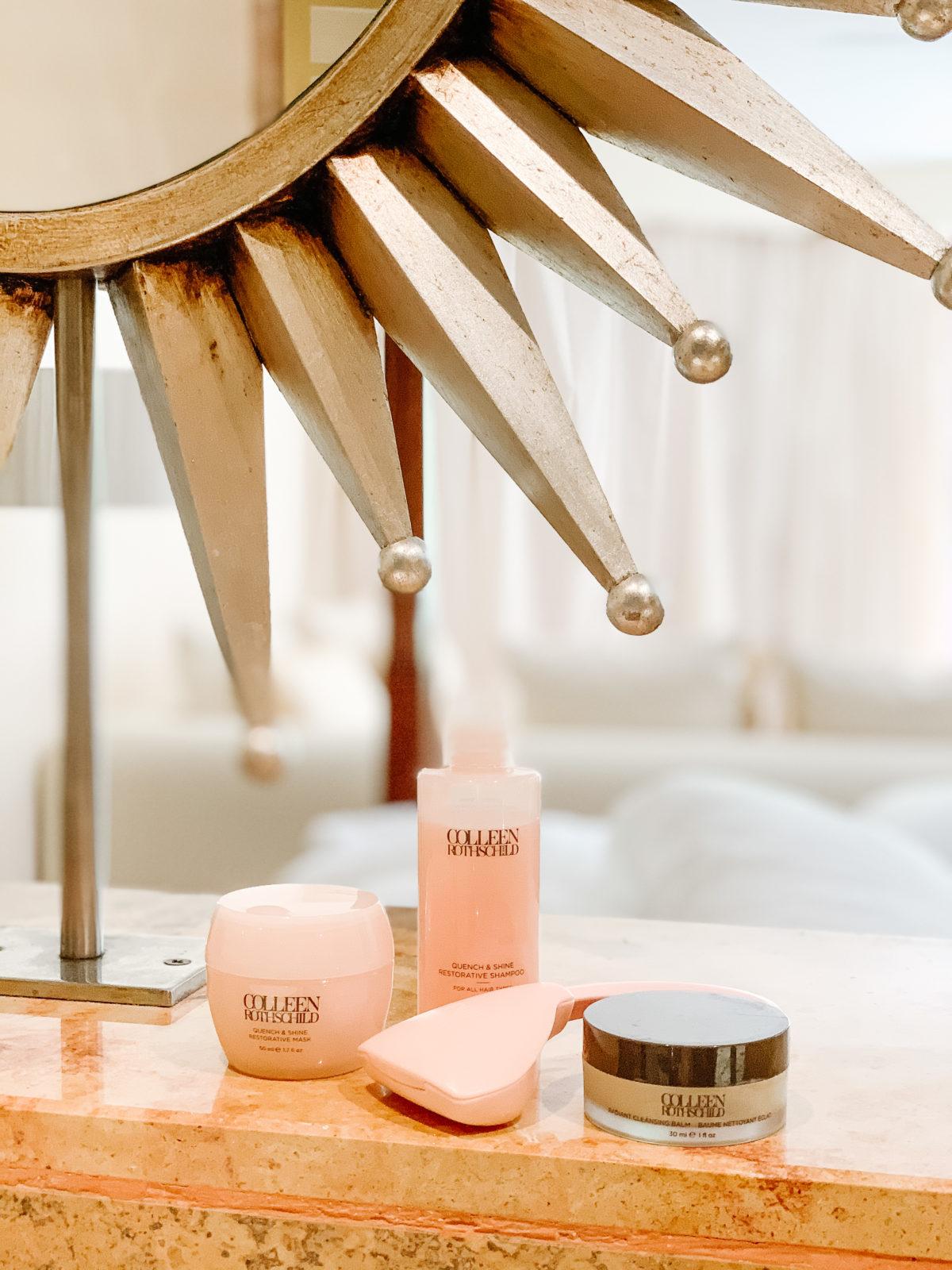 Beauty Essentials, Shine Mask, Shampoo, Billie Razor, Cleansing Balm