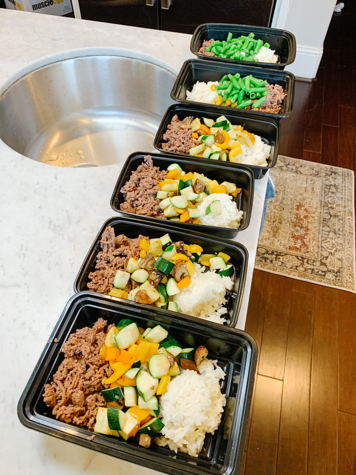 9 Weeks to Beach Body - Meal Prep