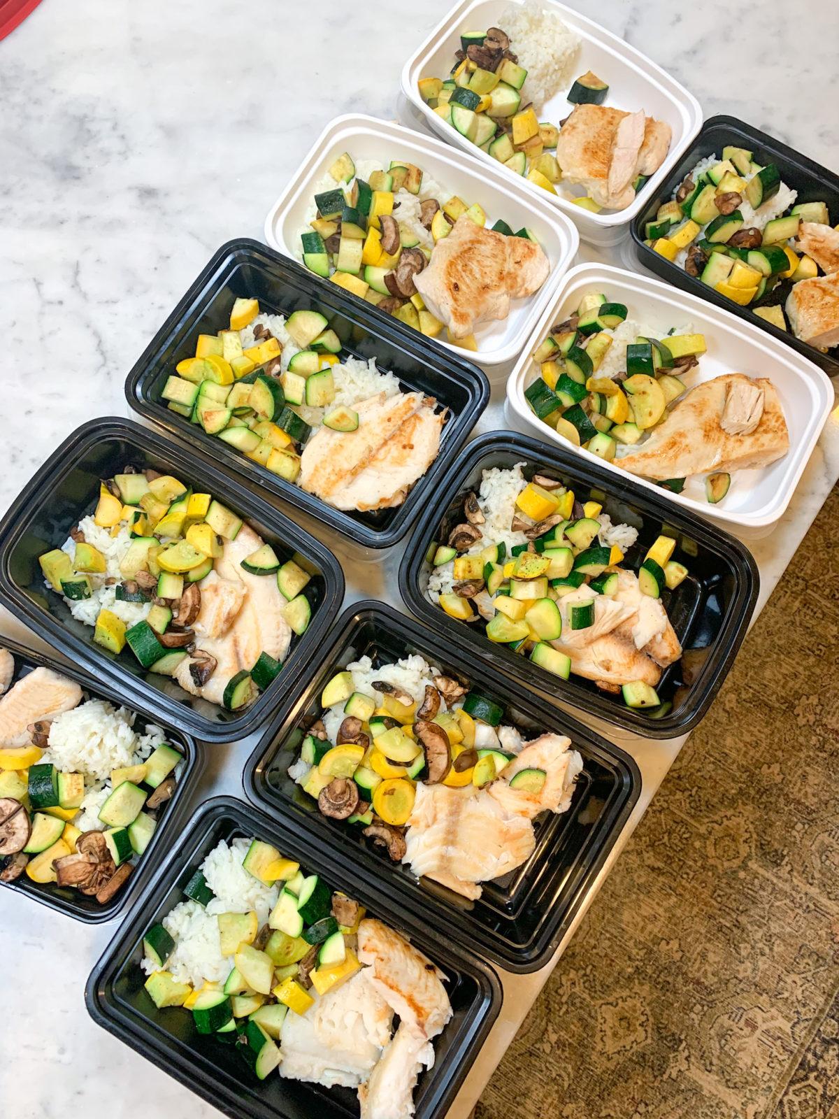 9 Weeks to Beach Body - Meal Prep