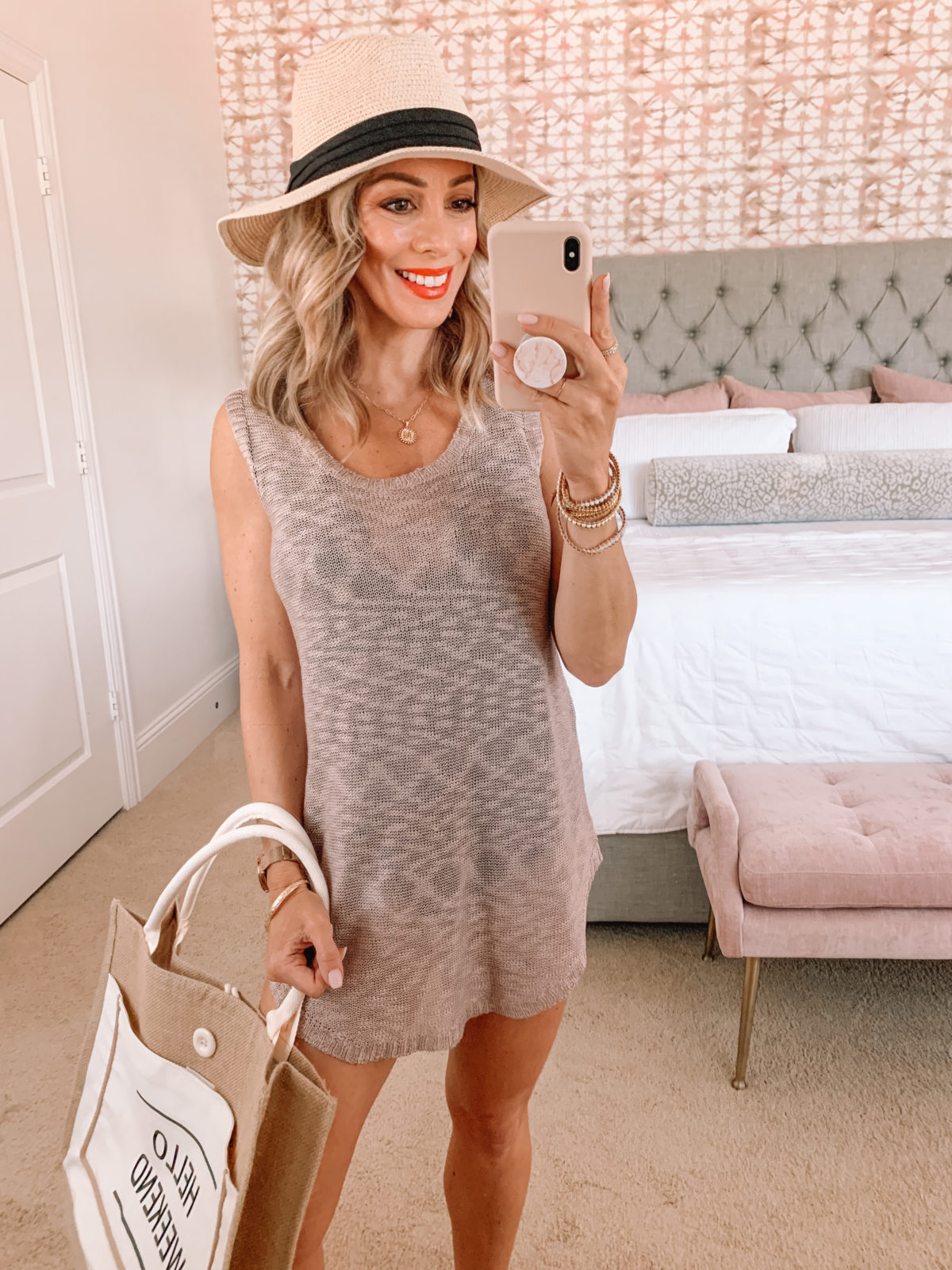 Amazon Fashion Faves, Swim Cover Up, Hat, Weekend Tote