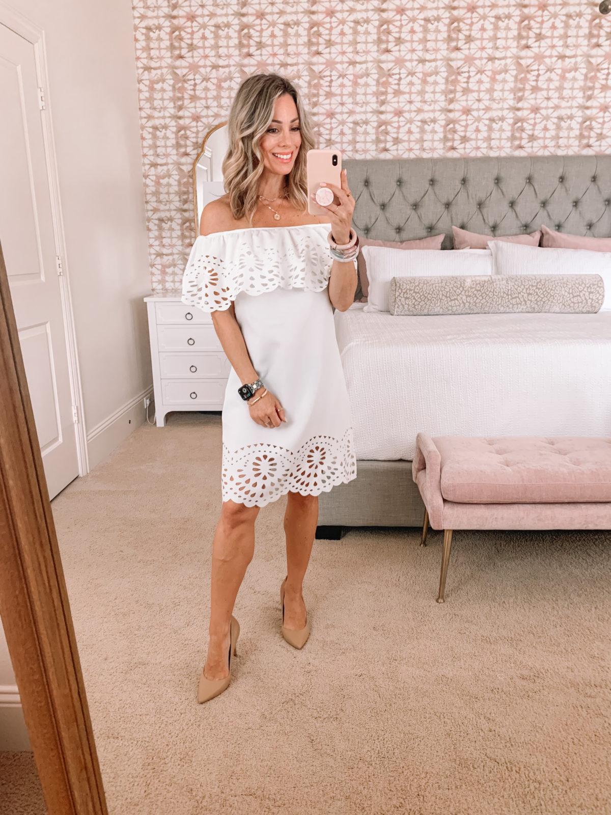 Amazon Fashion Faves, White Dress
