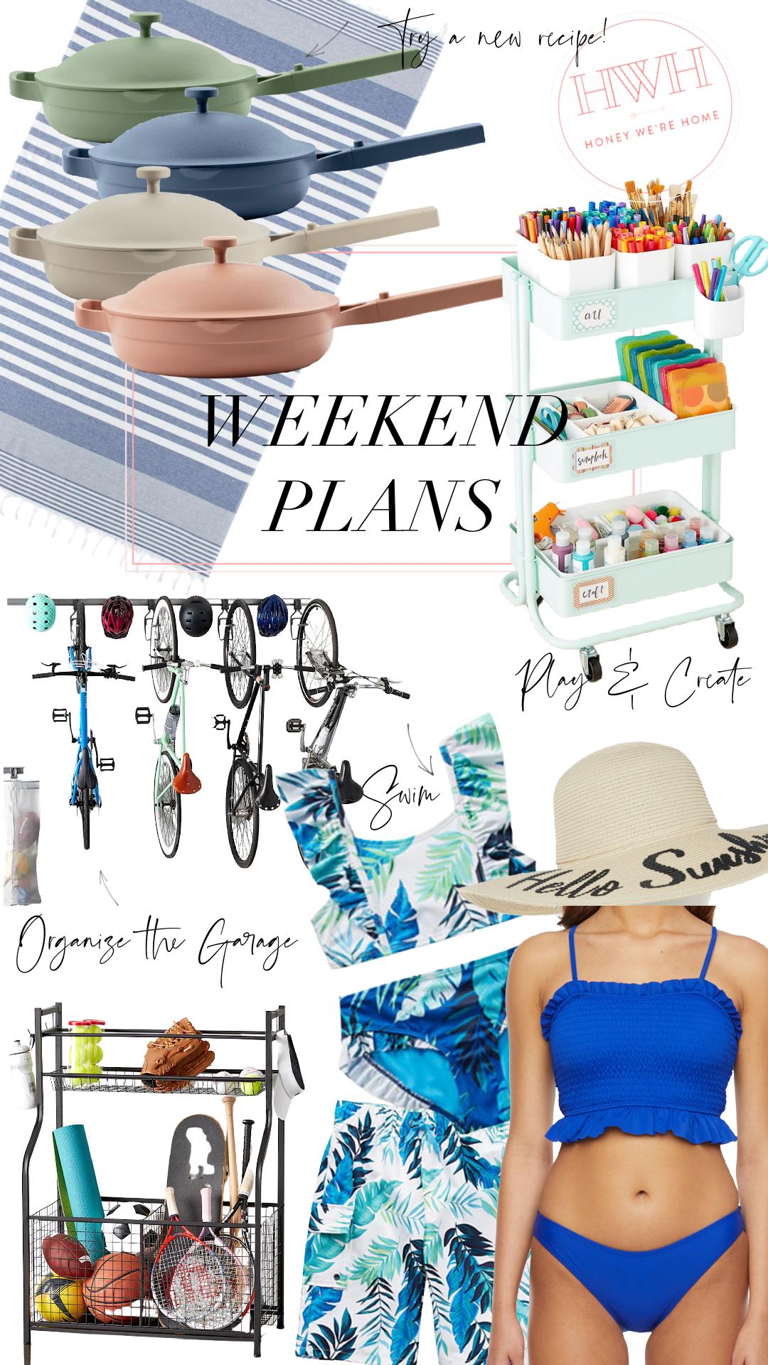 Long Weekend Plans | Cooking, Swimming, Organizing